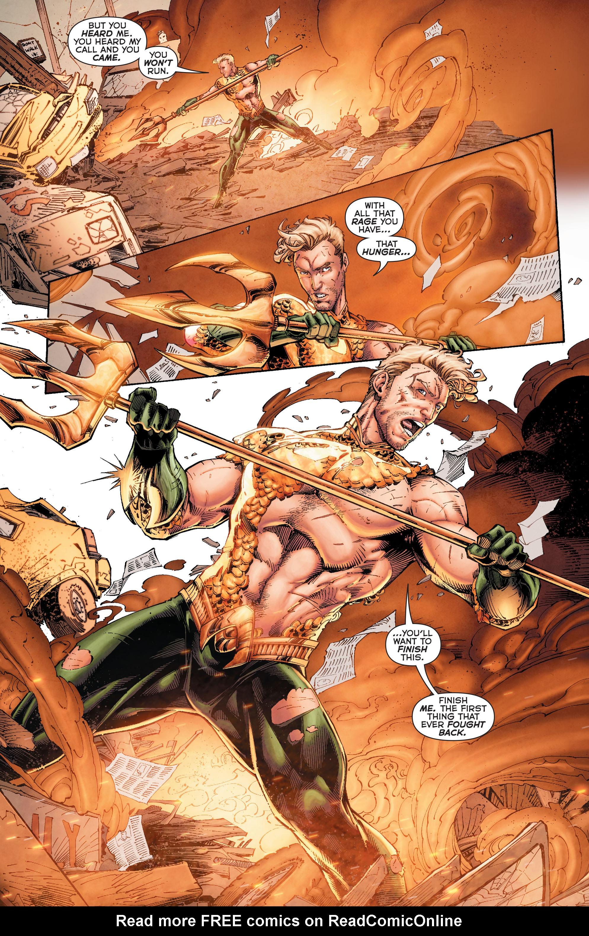 Read online Aquaman (2011) comic -  Issue #50 - 30