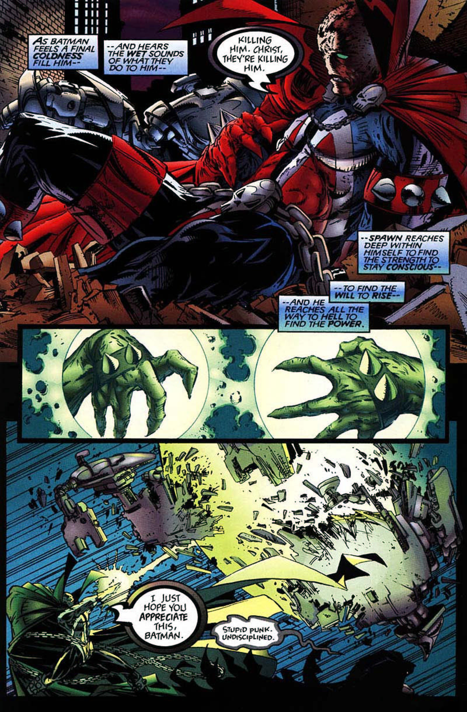 Read online Spawn-Batman comic -  Issue # Full - 39