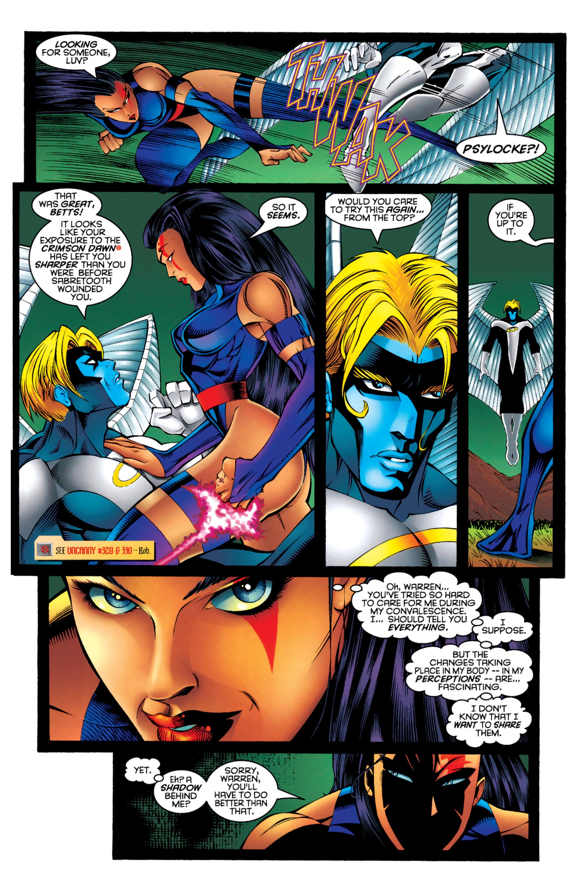 Read online Uncanny X-Men (1963) comic -  Issue #333 - 8