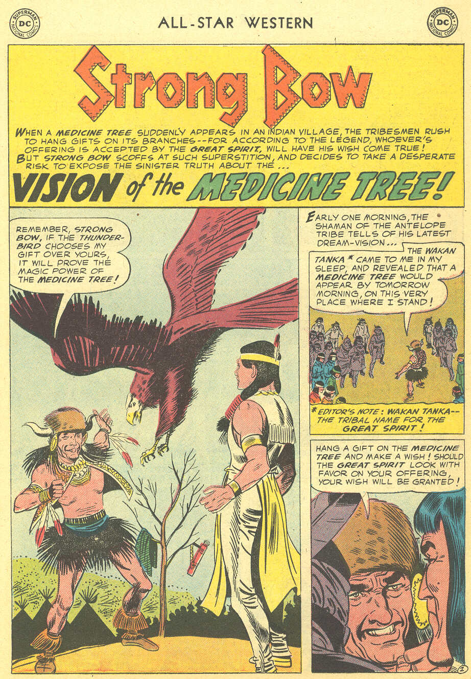 Read online All-Star Western (1951) comic -  Issue #92 - 11