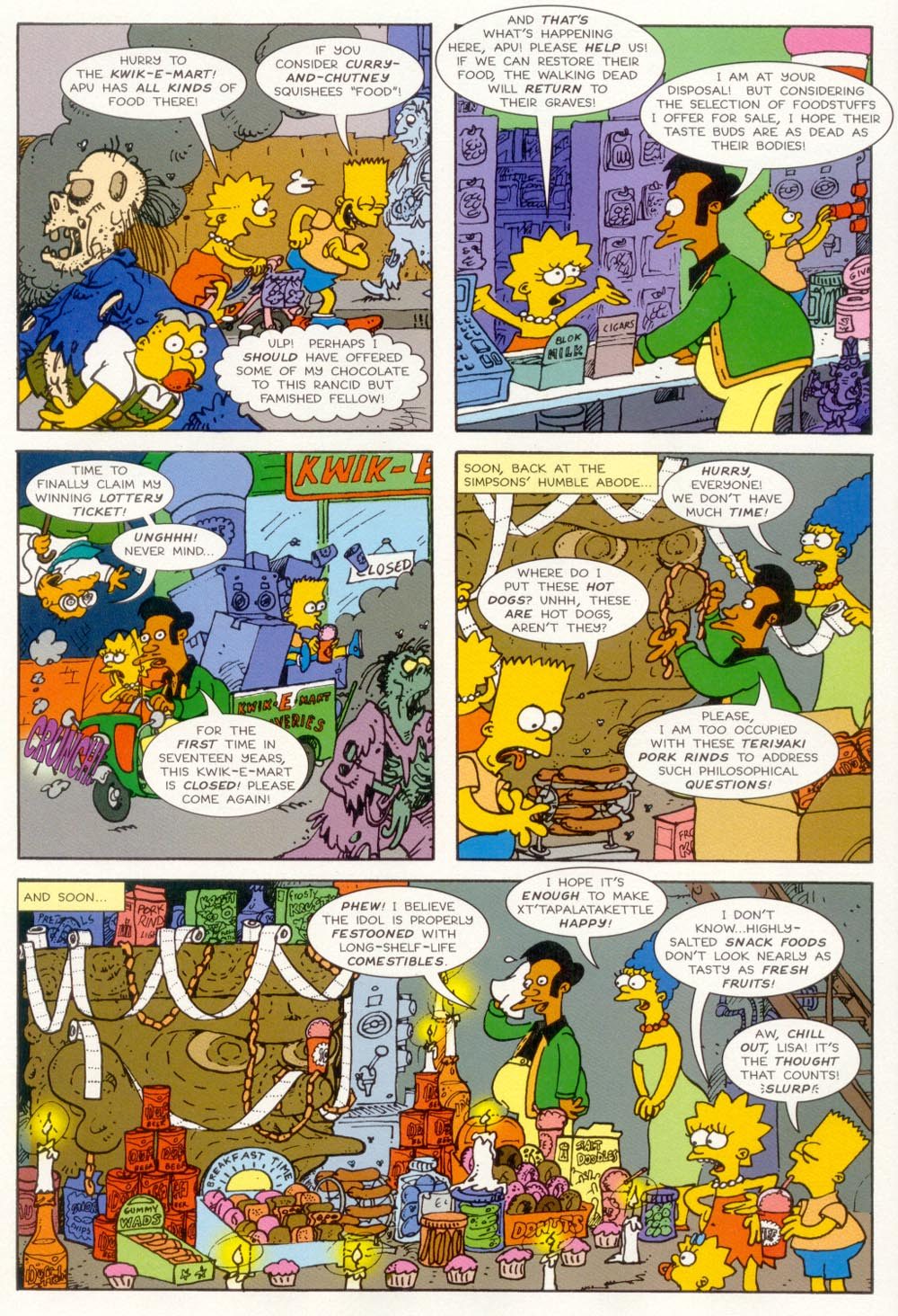 Read online Treehouse of Horror comic -  Issue #5 - 26