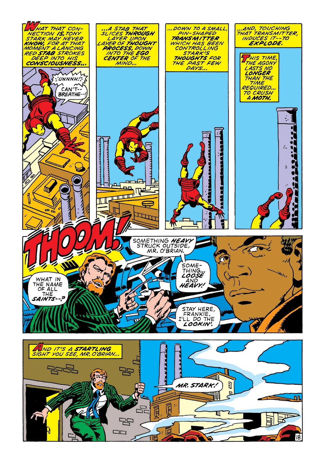 Read online Marvel Masterworks: The Invincible Iron Man comic -  Issue # TPB 8 (Part 1) - 24