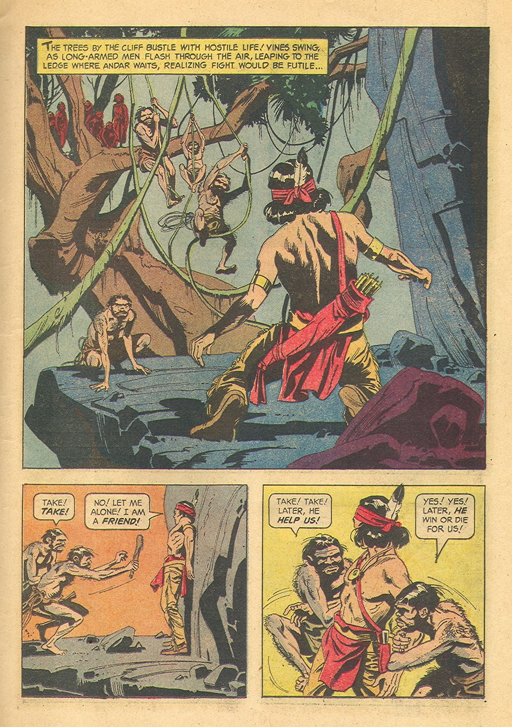Read online Turok, Son of Stone comic -  Issue #39 - 11