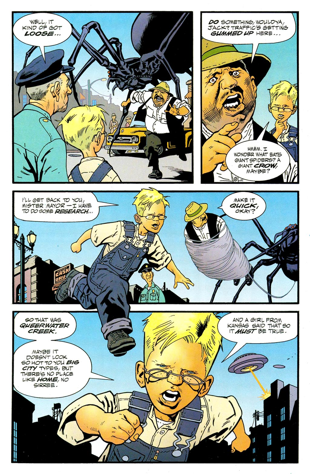 Read online ABC: A-Z, Tom Strong and Jack B. Quick comic -  Issue #ABC: A-Z, Tom Strong and Jack B. Quick Full - 15
