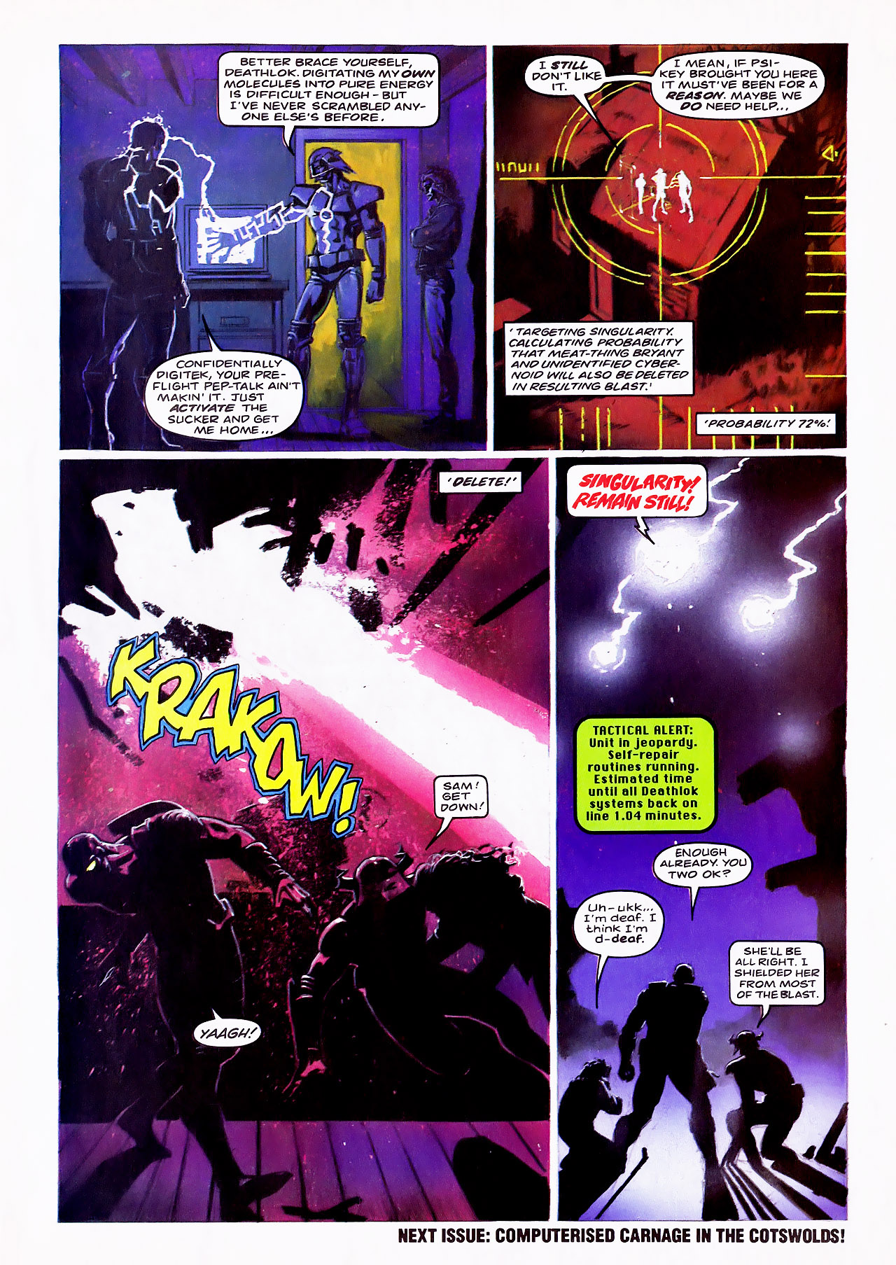 Read online Overkill comic -  Issue #14 - 21