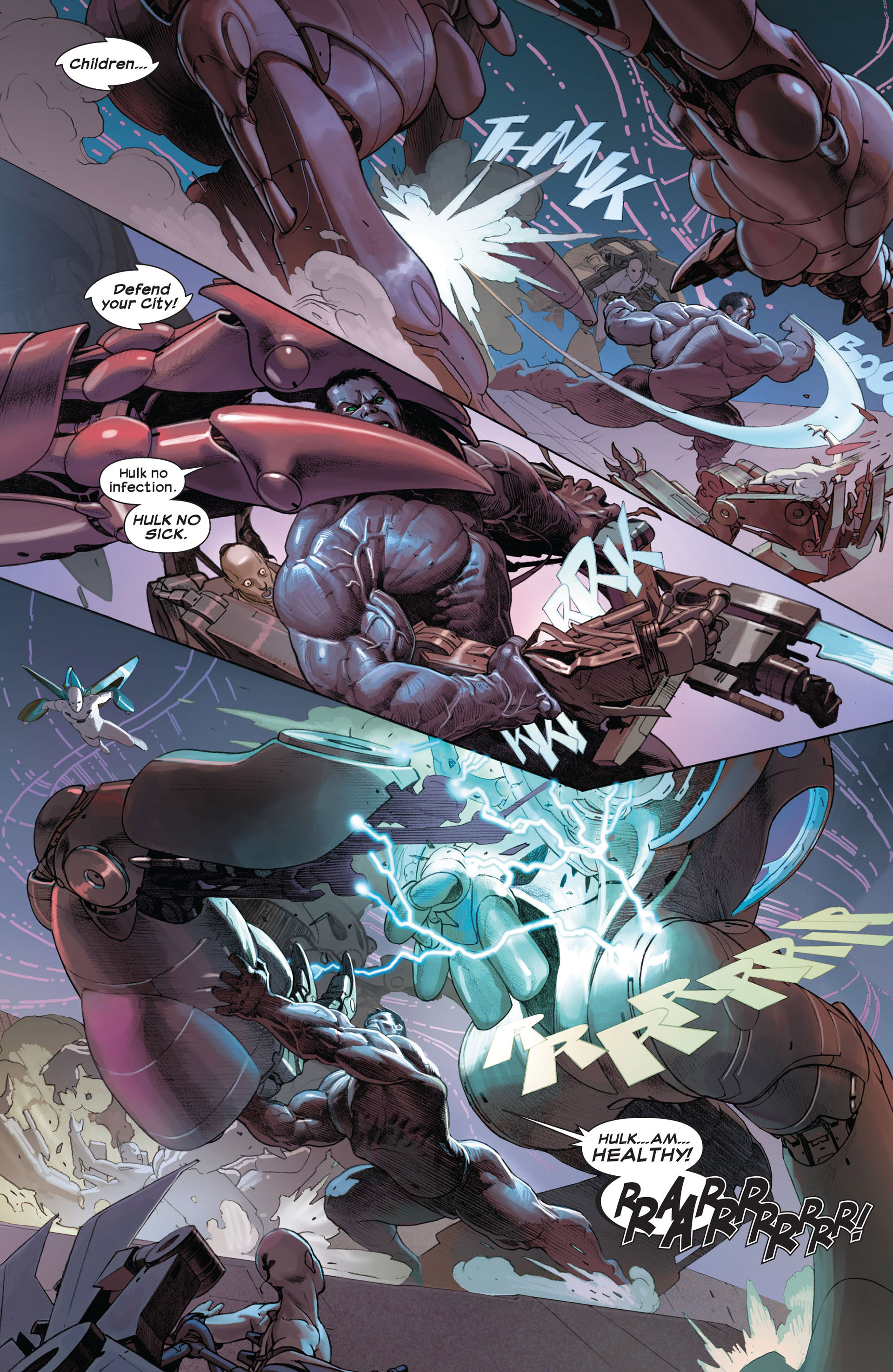 Read online Ultimate Comics Ultimates comic -  Issue #8 - 4