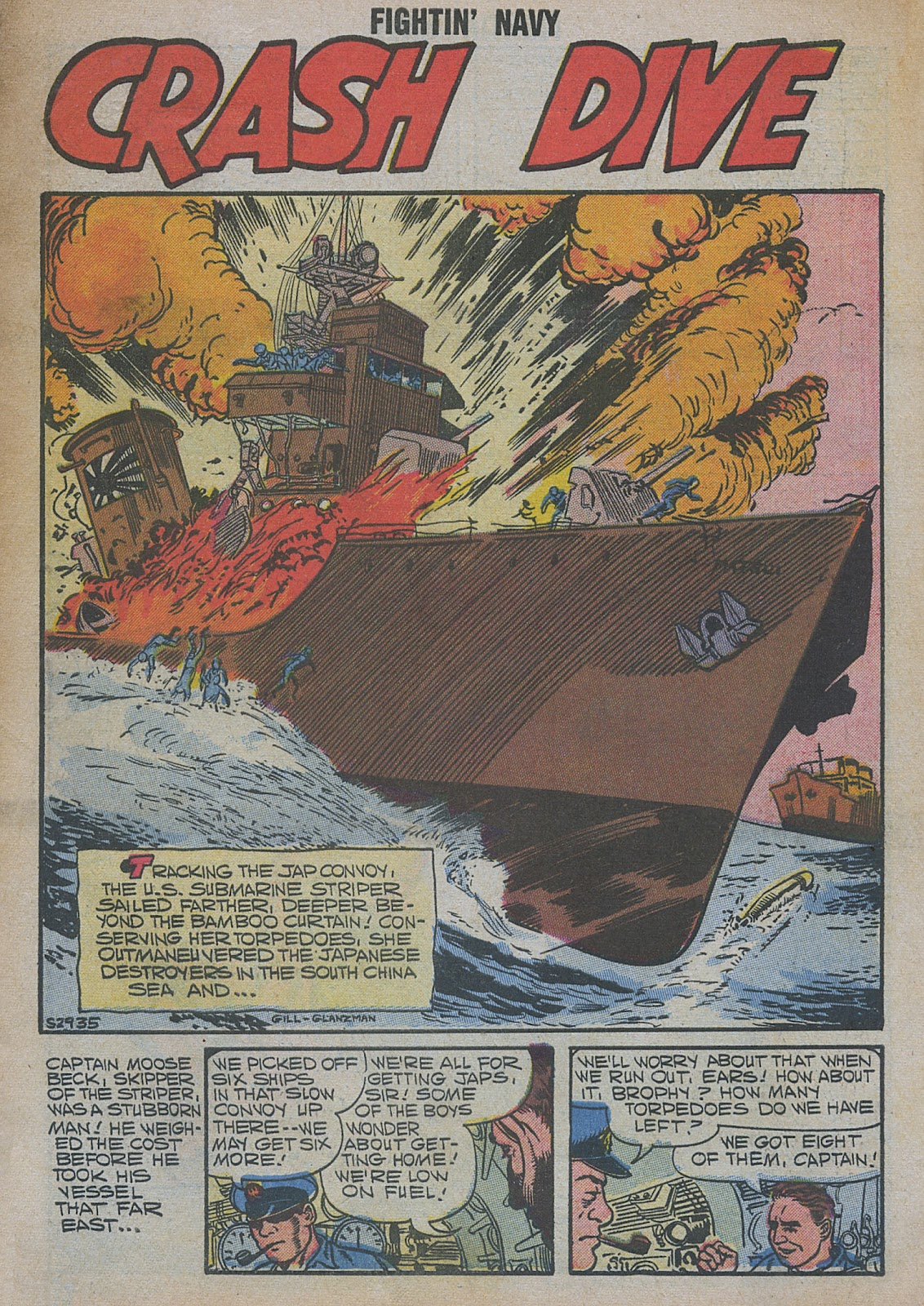 Read online Fightin' Navy comic -  Issue #82 - 3