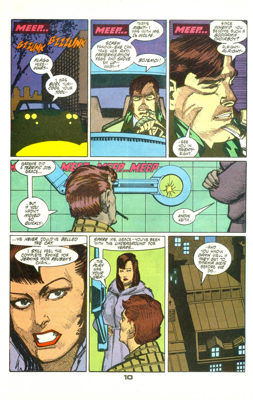 Read online American Flagg! comic -  Issue #25 - 12