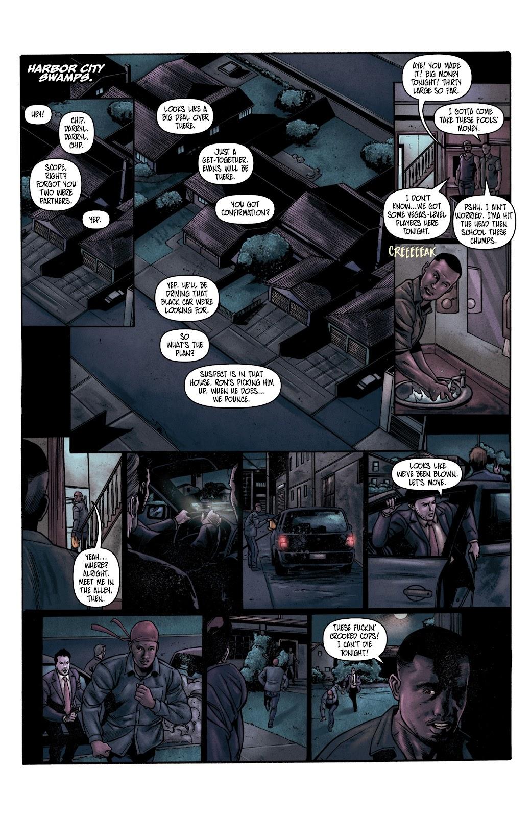Read online Vindication comic -  Issue #2 - 21