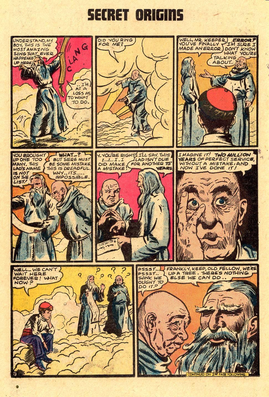 Read online Secret Origins (1973) comic -  Issue #4 - 22