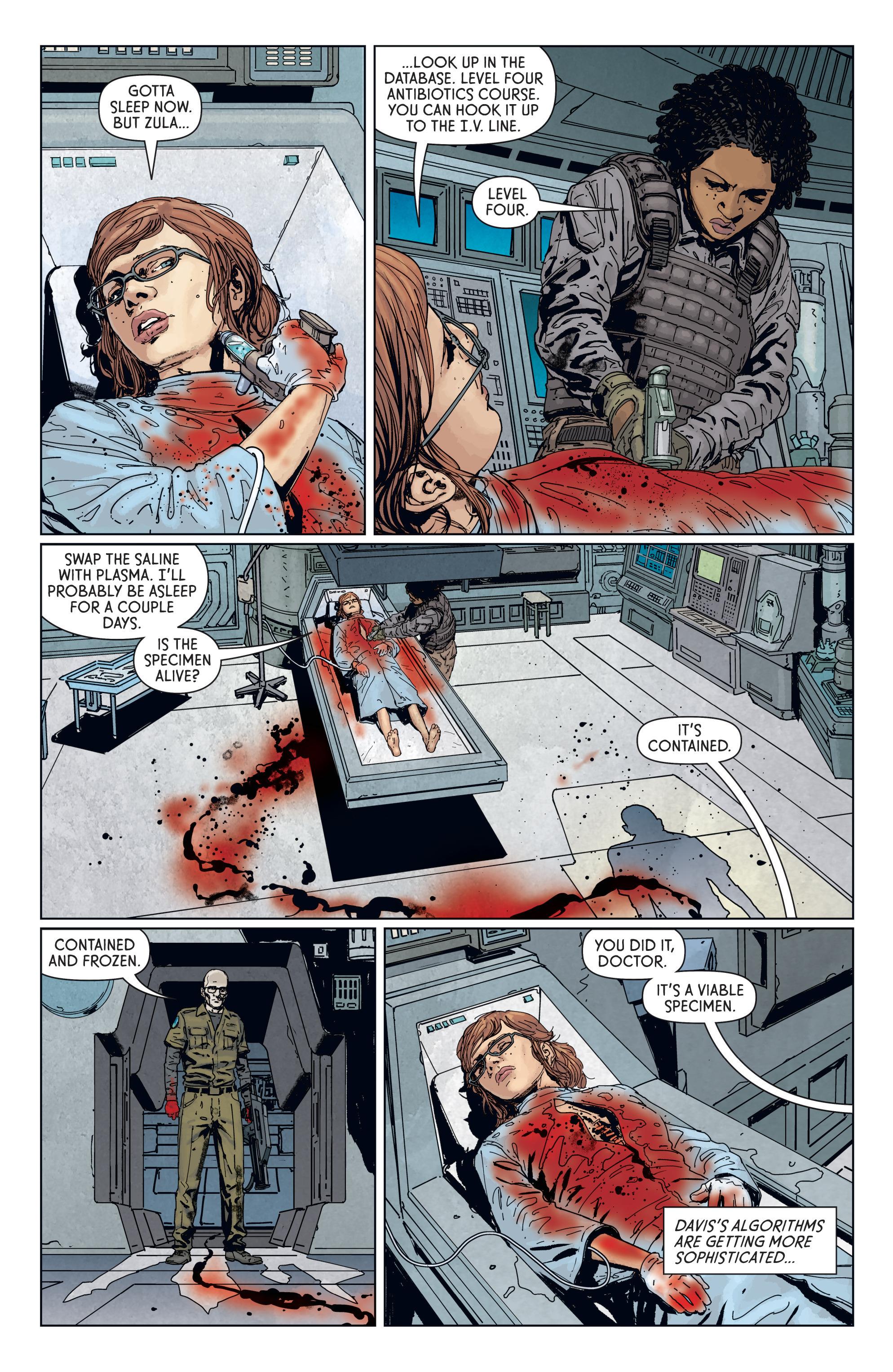 Read online Aliens: Defiance comic -  Issue #7 - 19