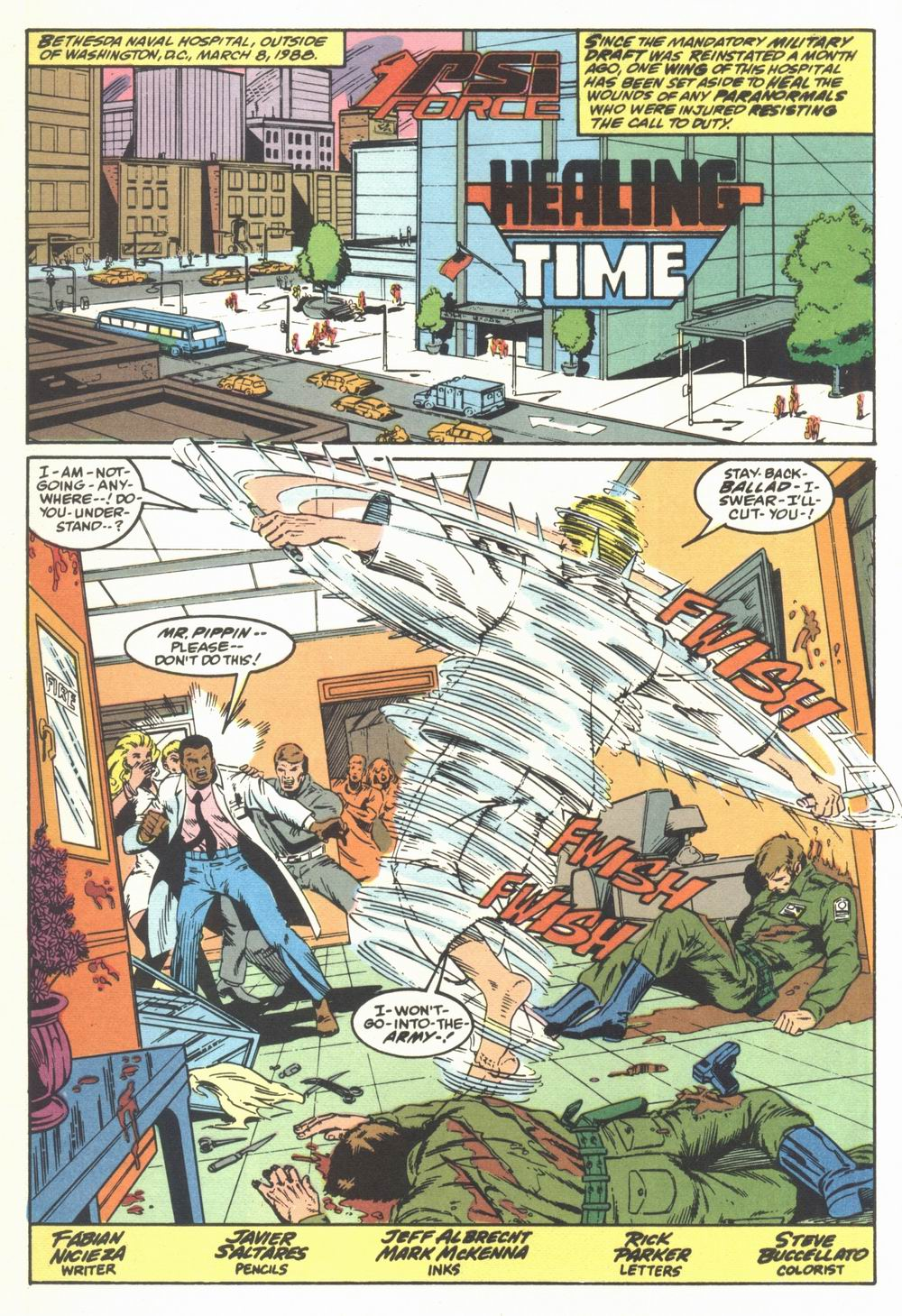 Read online Justice (1986) comic -  Issue #23 - 26