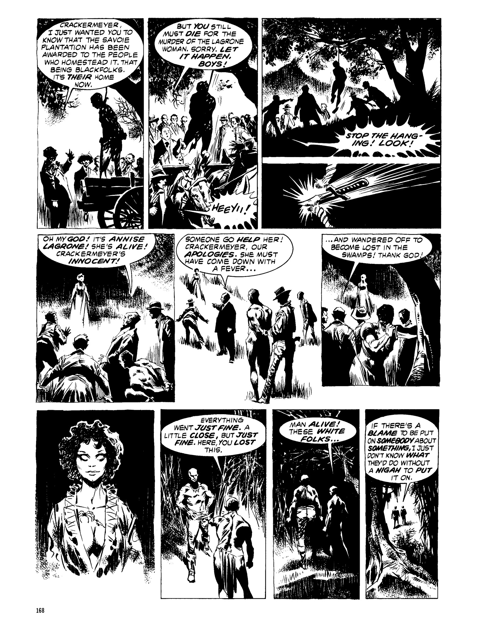 Read online Eerie Archives comic -  Issue # TPB 13 - 169