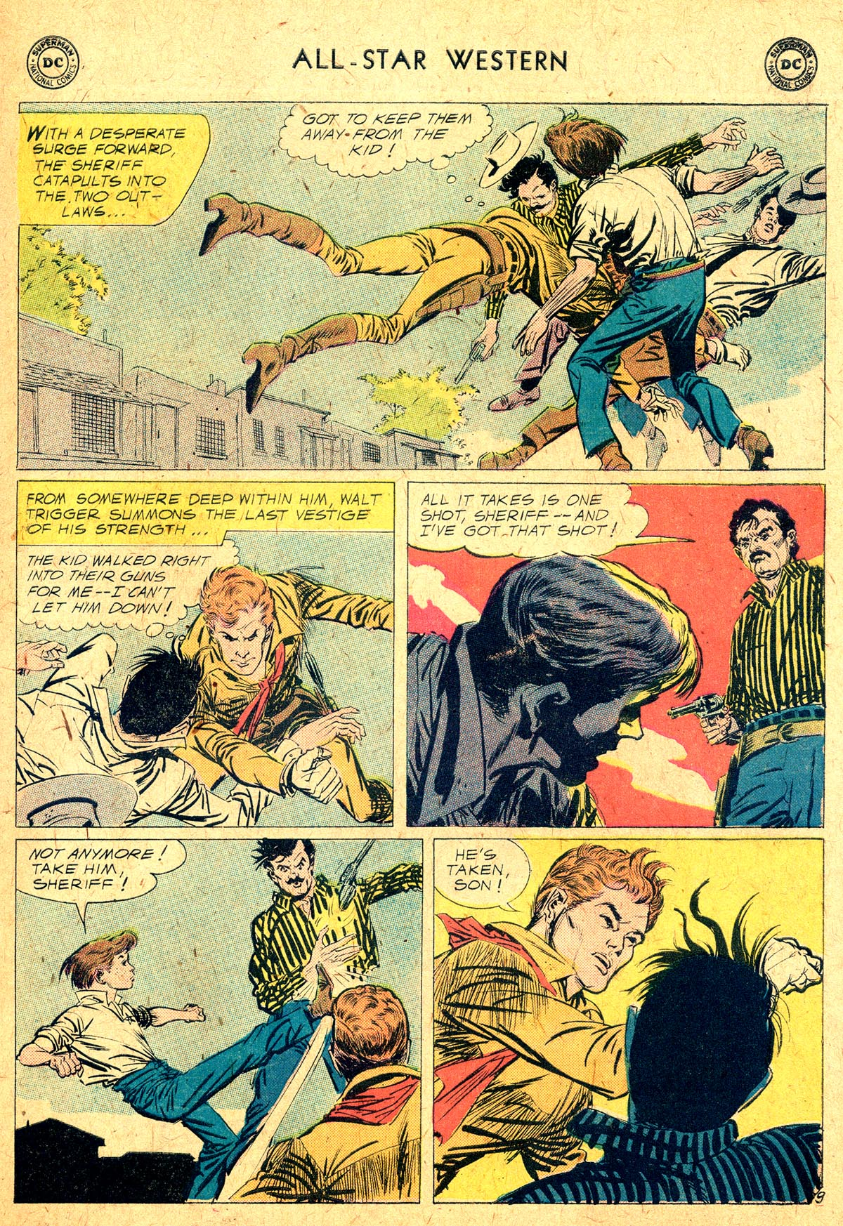 Read online All-Star Western (1951) comic -  Issue #104 - 11