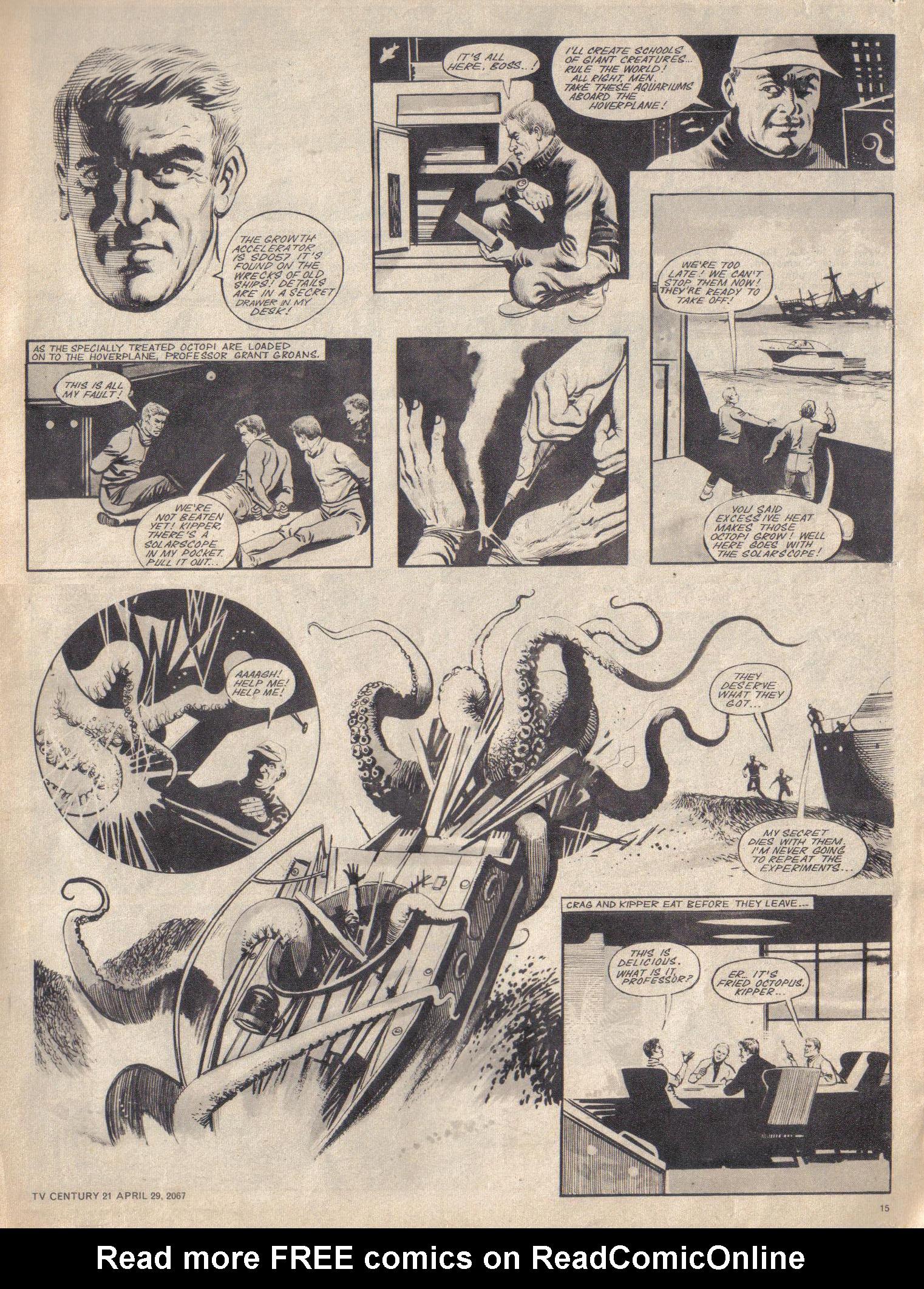 Read online TV Century 21 (TV 21) comic -  Issue #119 - 14