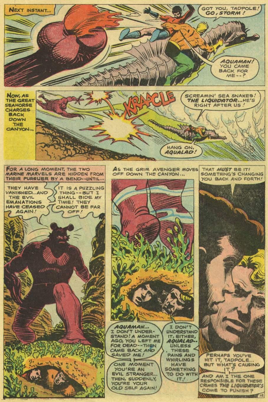 Read online Aquaman (1962) comic -  Issue #38 - 21