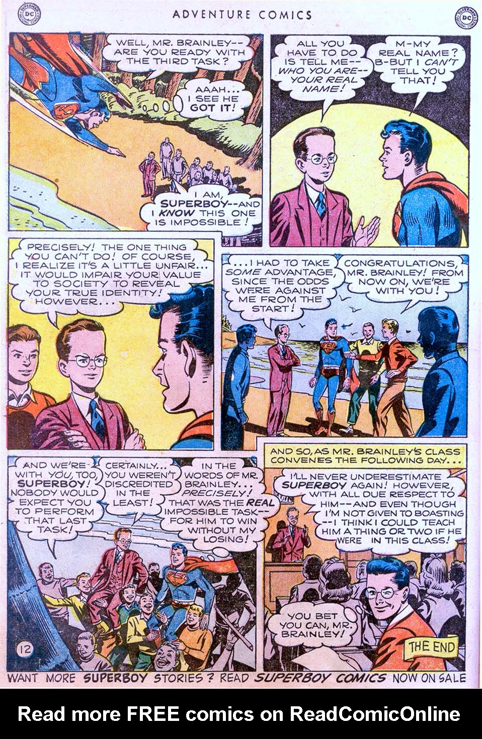 Read online Adventure Comics (1938) comic -  Issue #158 - 14