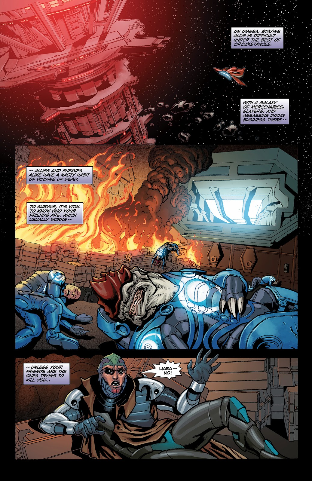 Mass Effect: Redemption Issue #3 #3 - English 3