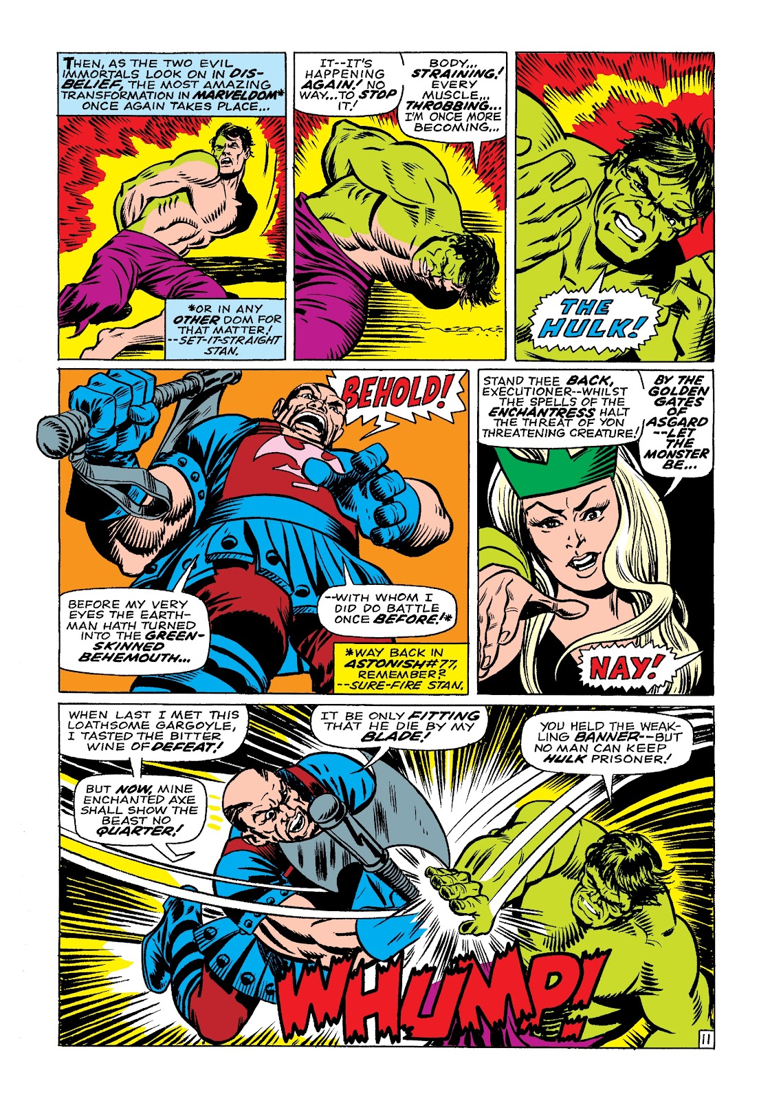 Read online Marvel Masterworks: The Incredible Hulk comic -  Issue # TPB 3 (Part 3) - 74