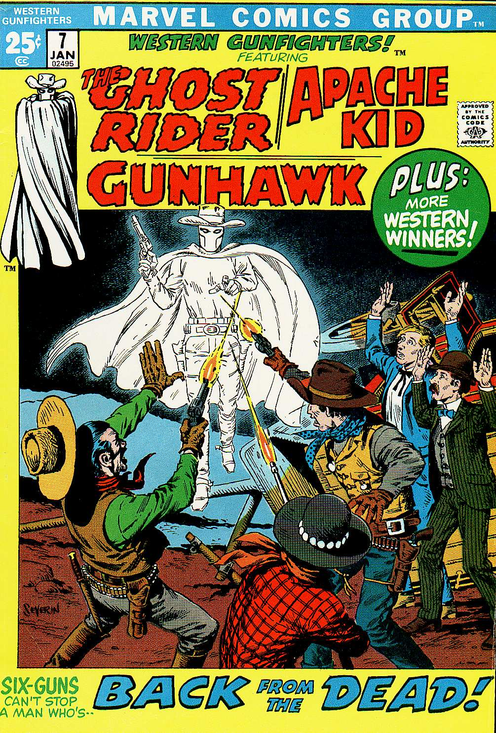 Western Gunfighters 7 Page 1