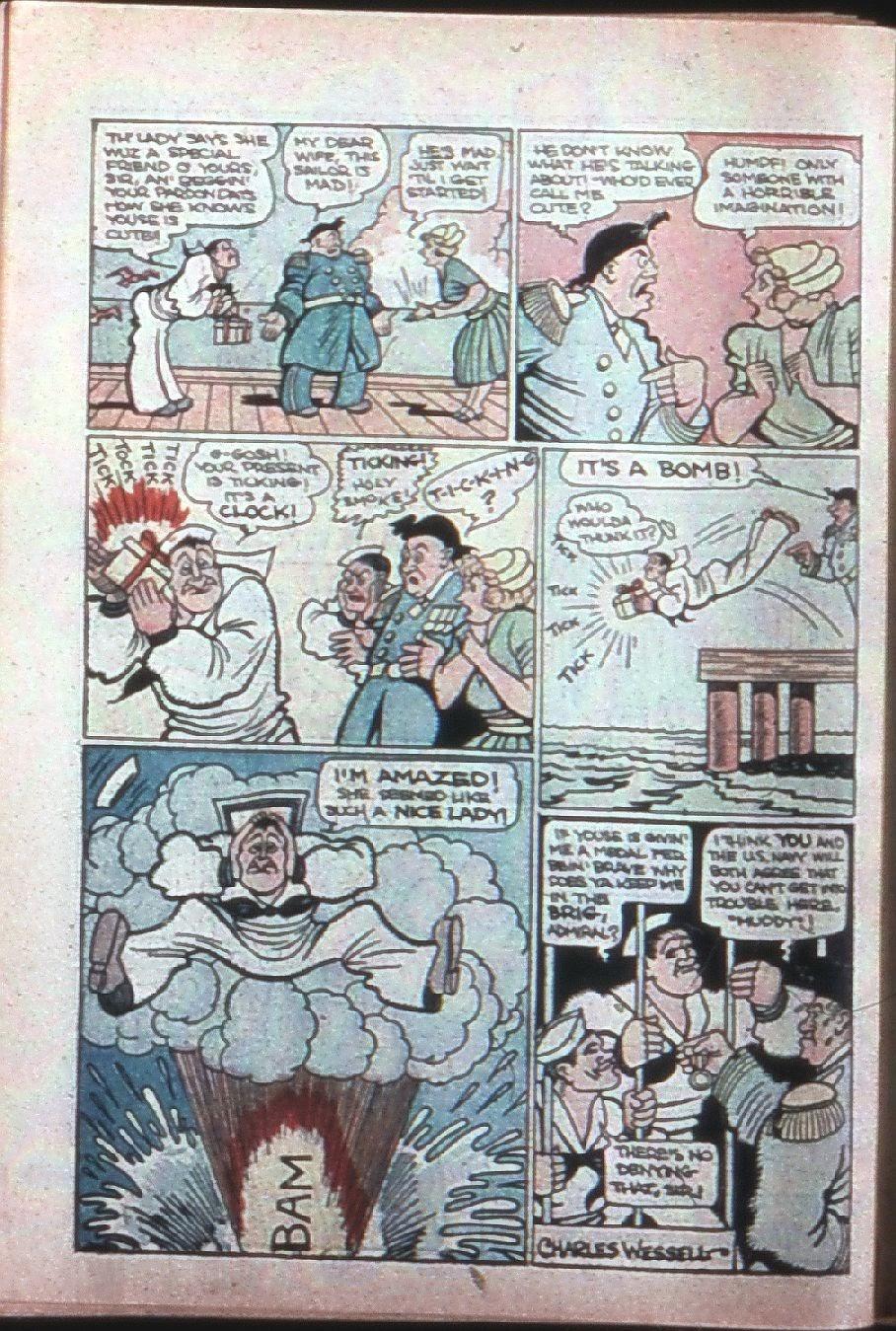 Read online Super-Magician Comics comic -  Issue #7 - 65