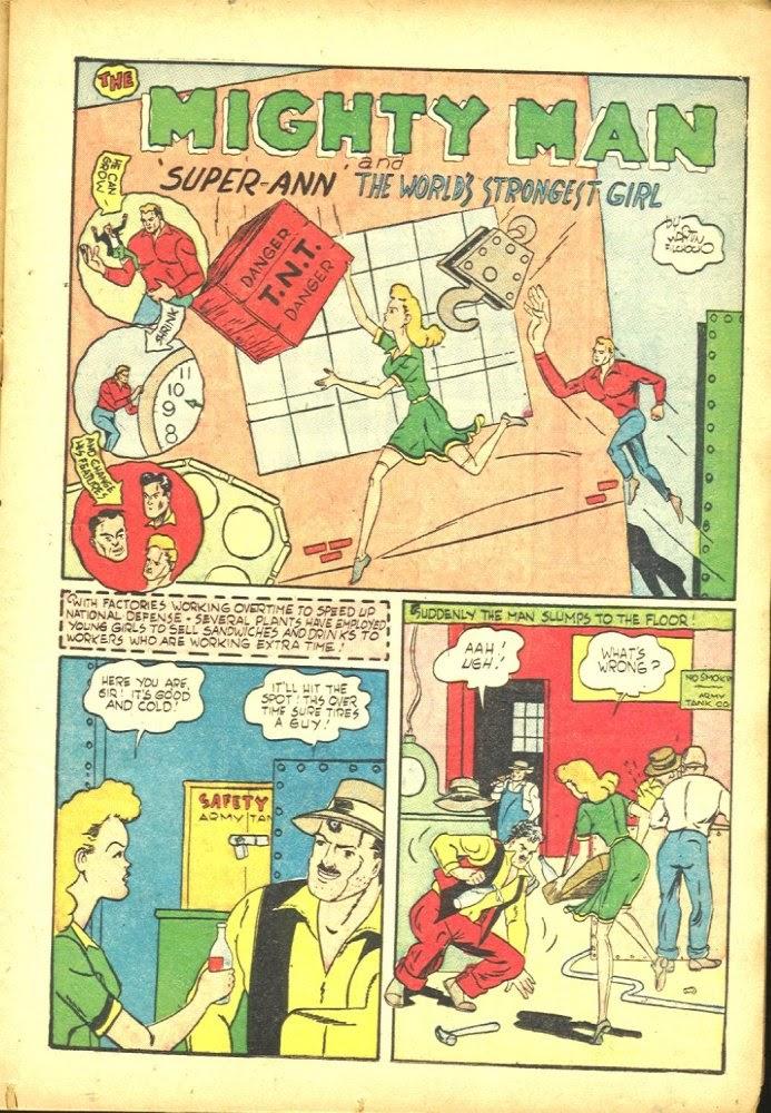Read online Amazing Man Comics comic -  Issue #25 - 23