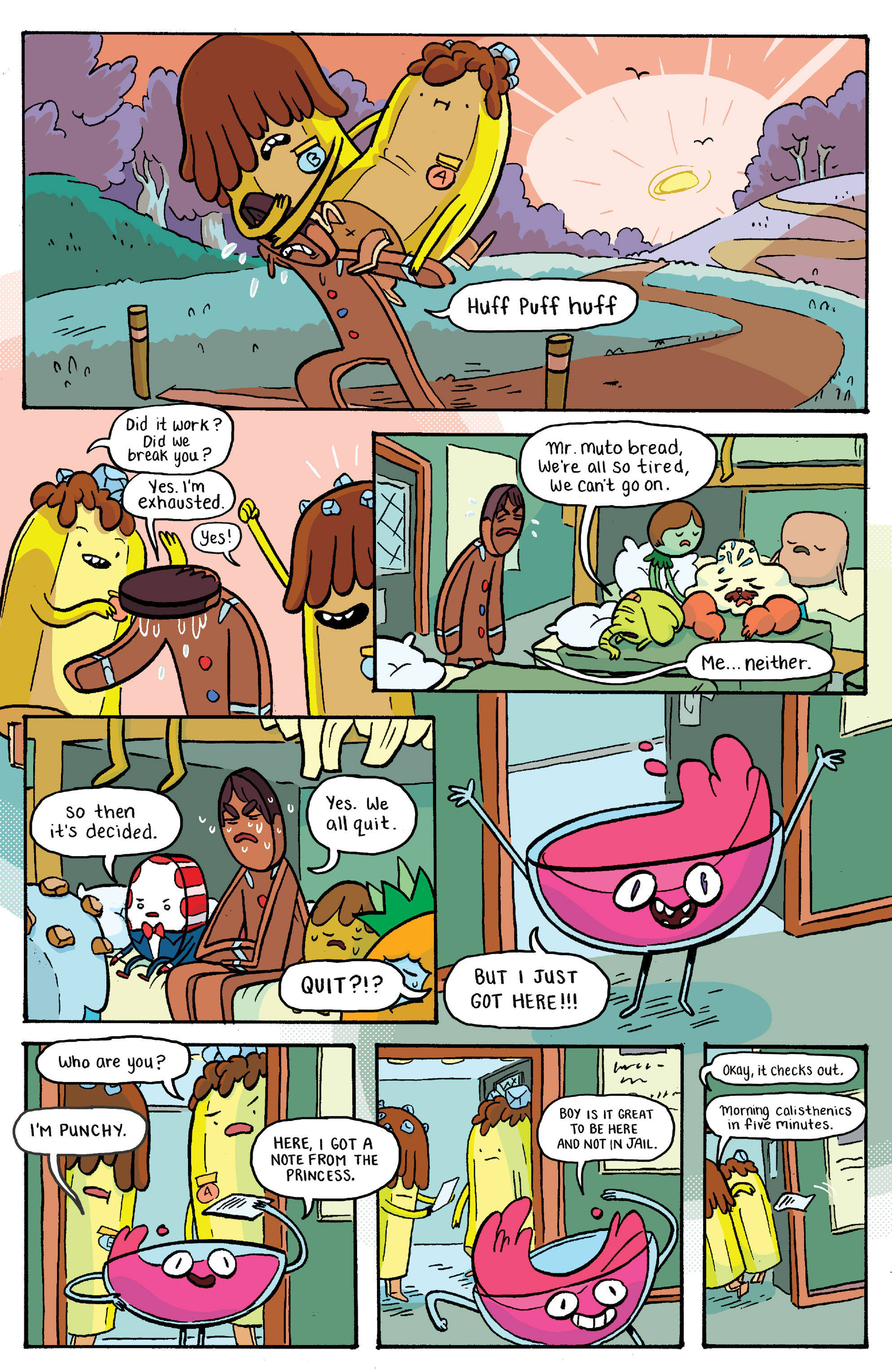 Read online Adventure Time: Banana Guard Academ comic -  Issue #2 - 20