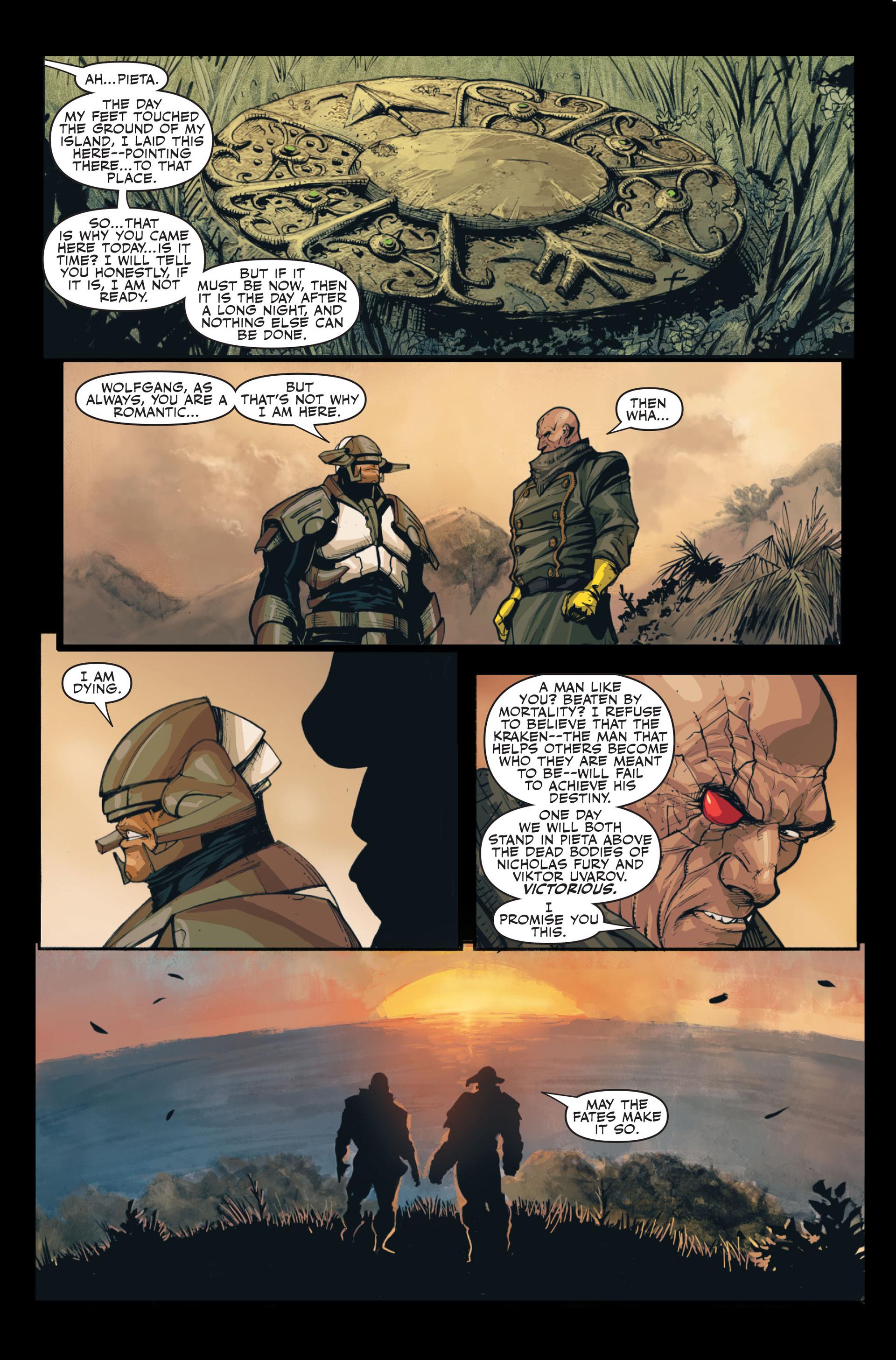 Read online Secret Warriors comic -  Issue #13 - 18