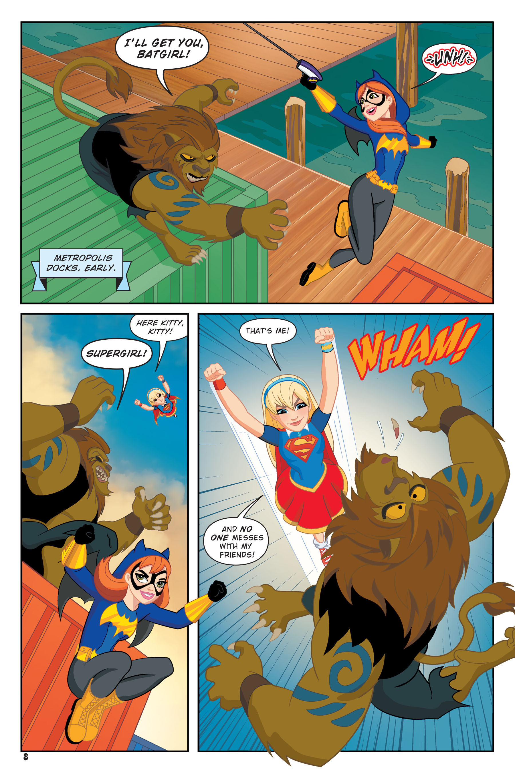 Read online DC Super Hero Girls: Hits and Myths comic -  Issue # Full - 6