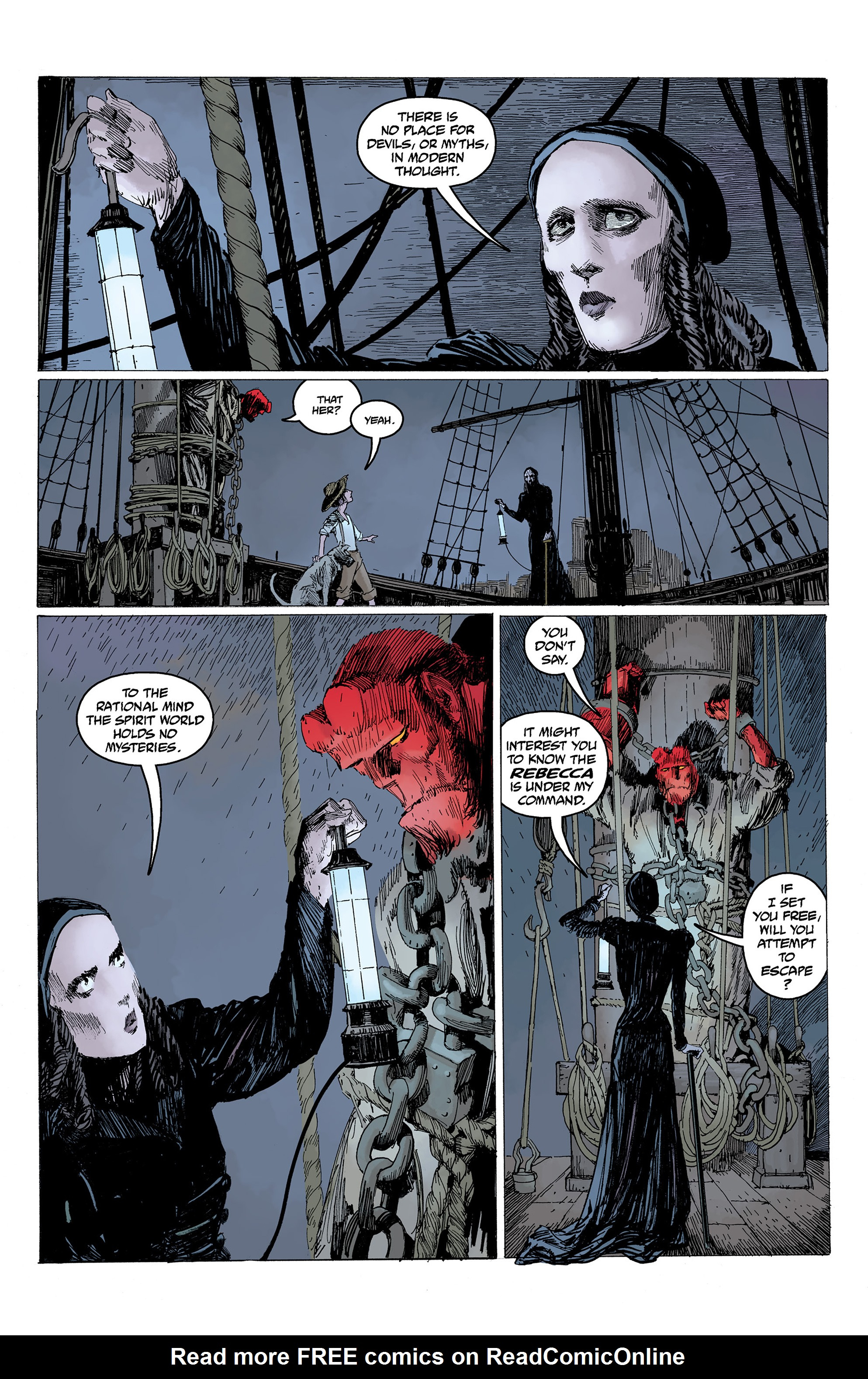 Read online Hellboy: Into the Silent Sea comic -  Issue # Full - 26
