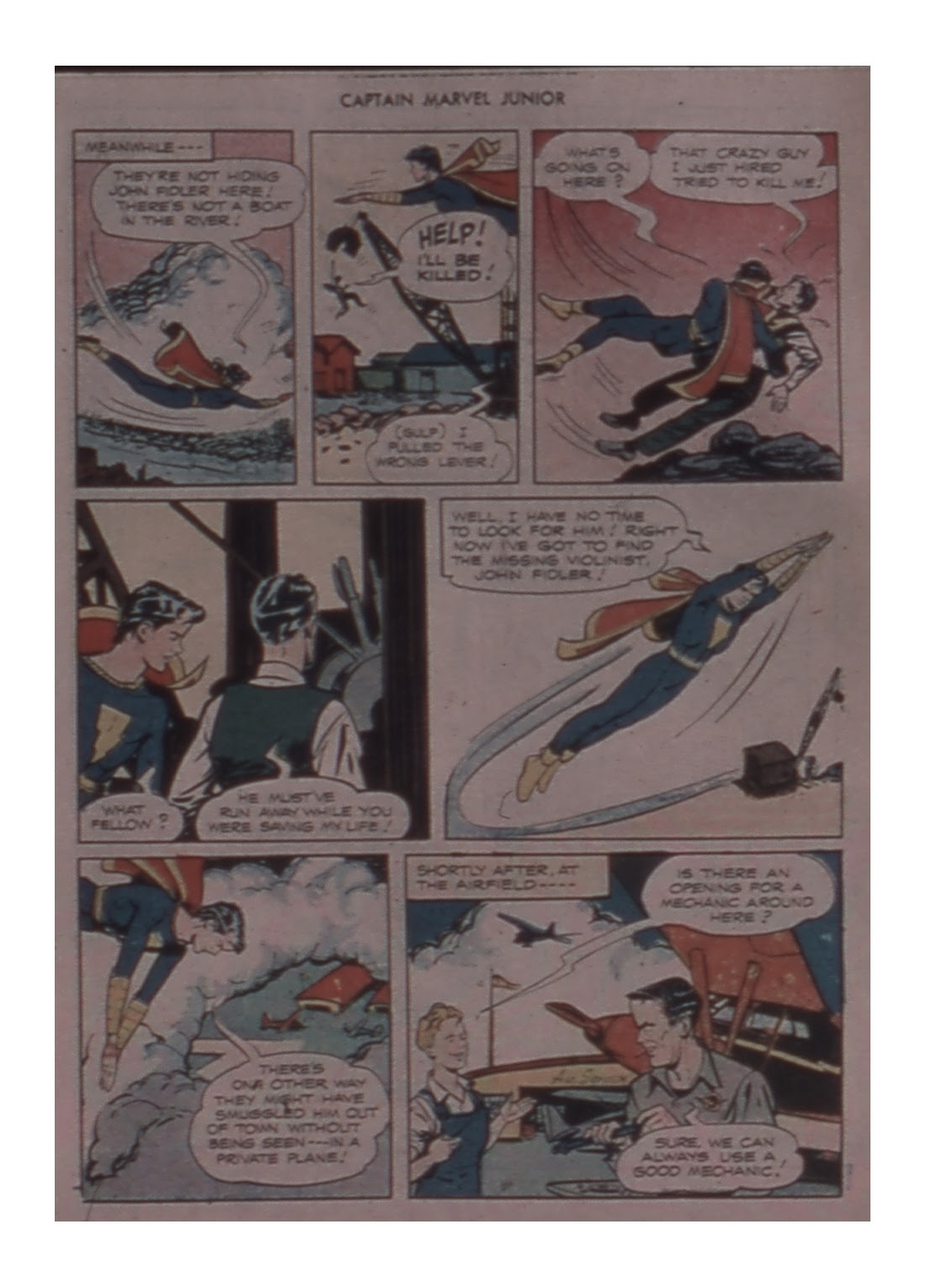 Captain Marvel, Jr. issue 59 - Page 19