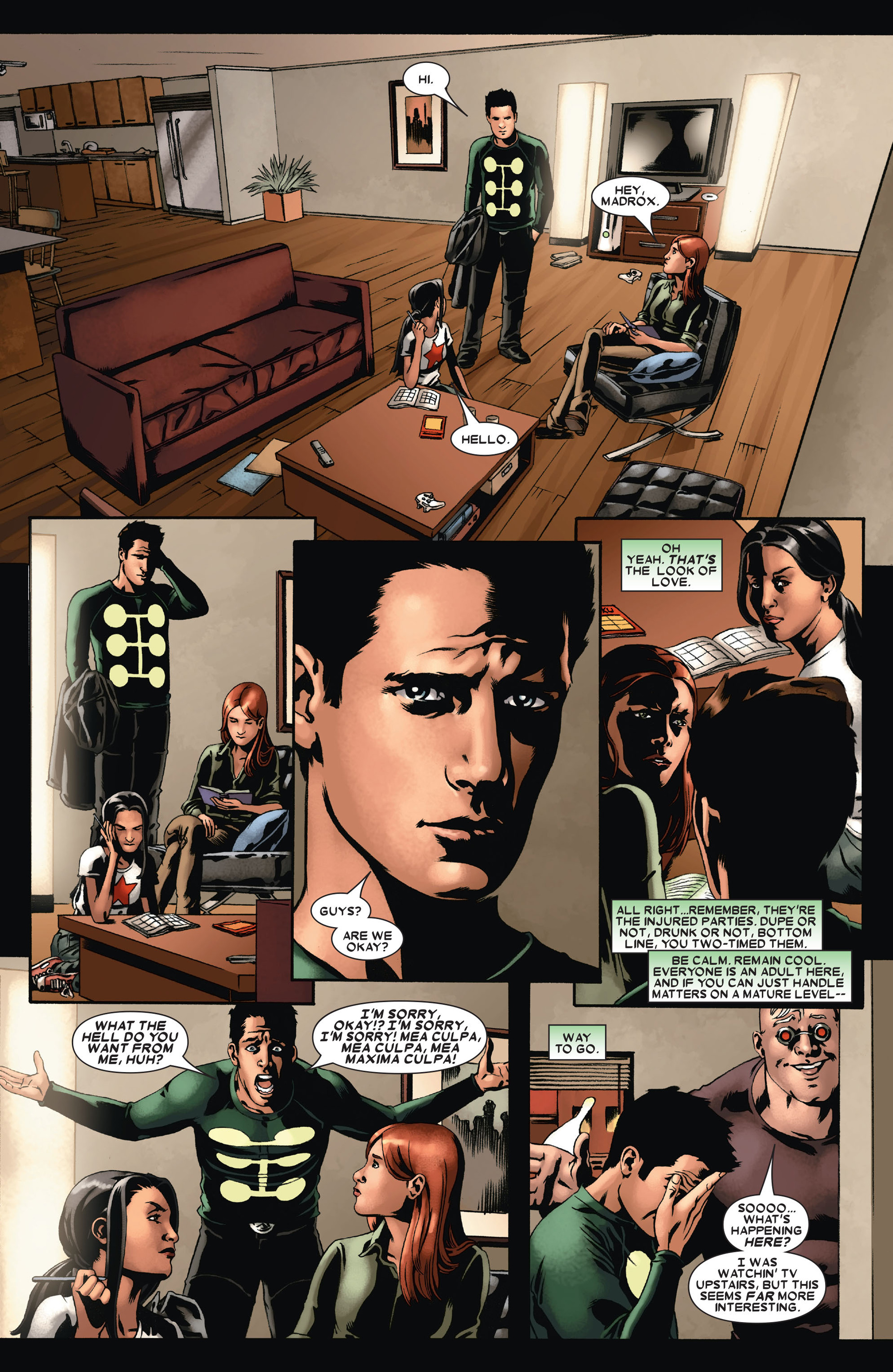Read online X-Factor (2006) comic -  Issue #21 - 8