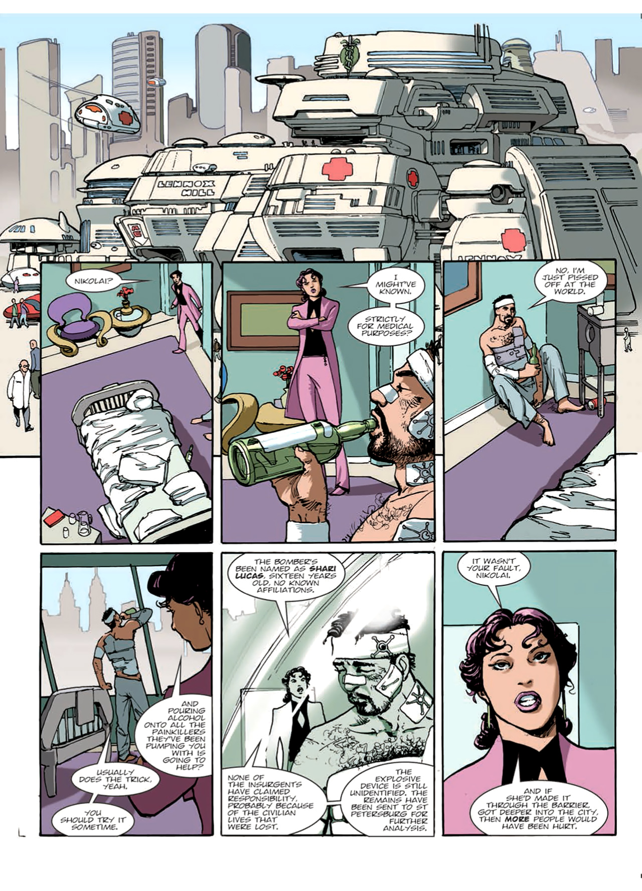 Read online Nikolai Dante comic -  Issue # TPB 9 - 19