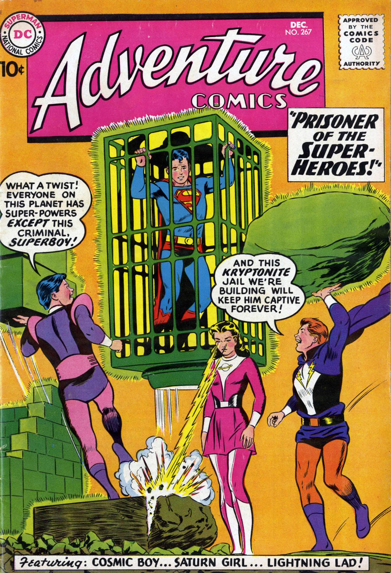 Read online Adventure Comics (1938) comic -  Issue #267 - 1