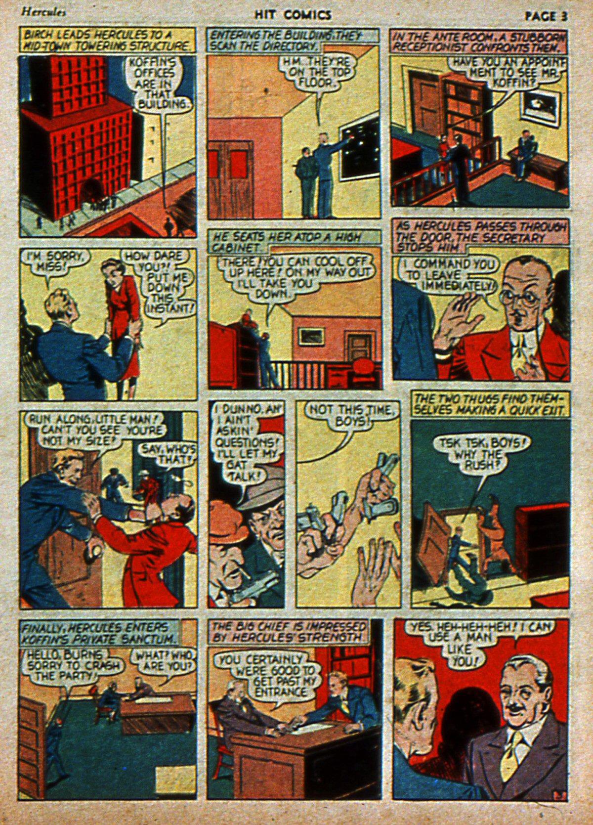 Read online Hit Comics comic -  Issue #3 - 5