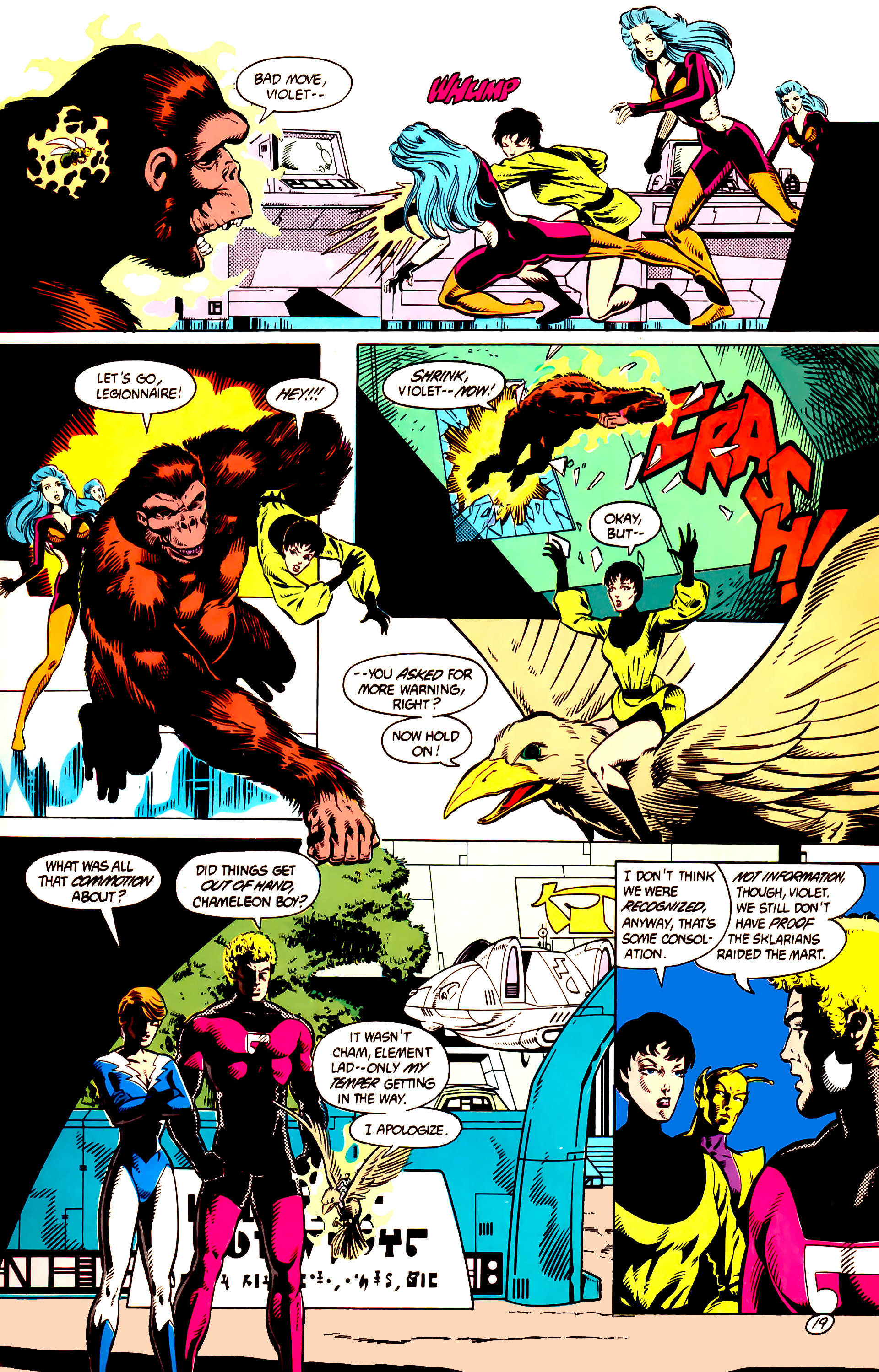 Legion of Super-Heroes (1984) 9 Page 20
