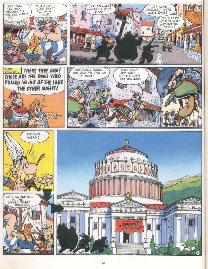 Read online Asterix comic -  Issue #16 - 31