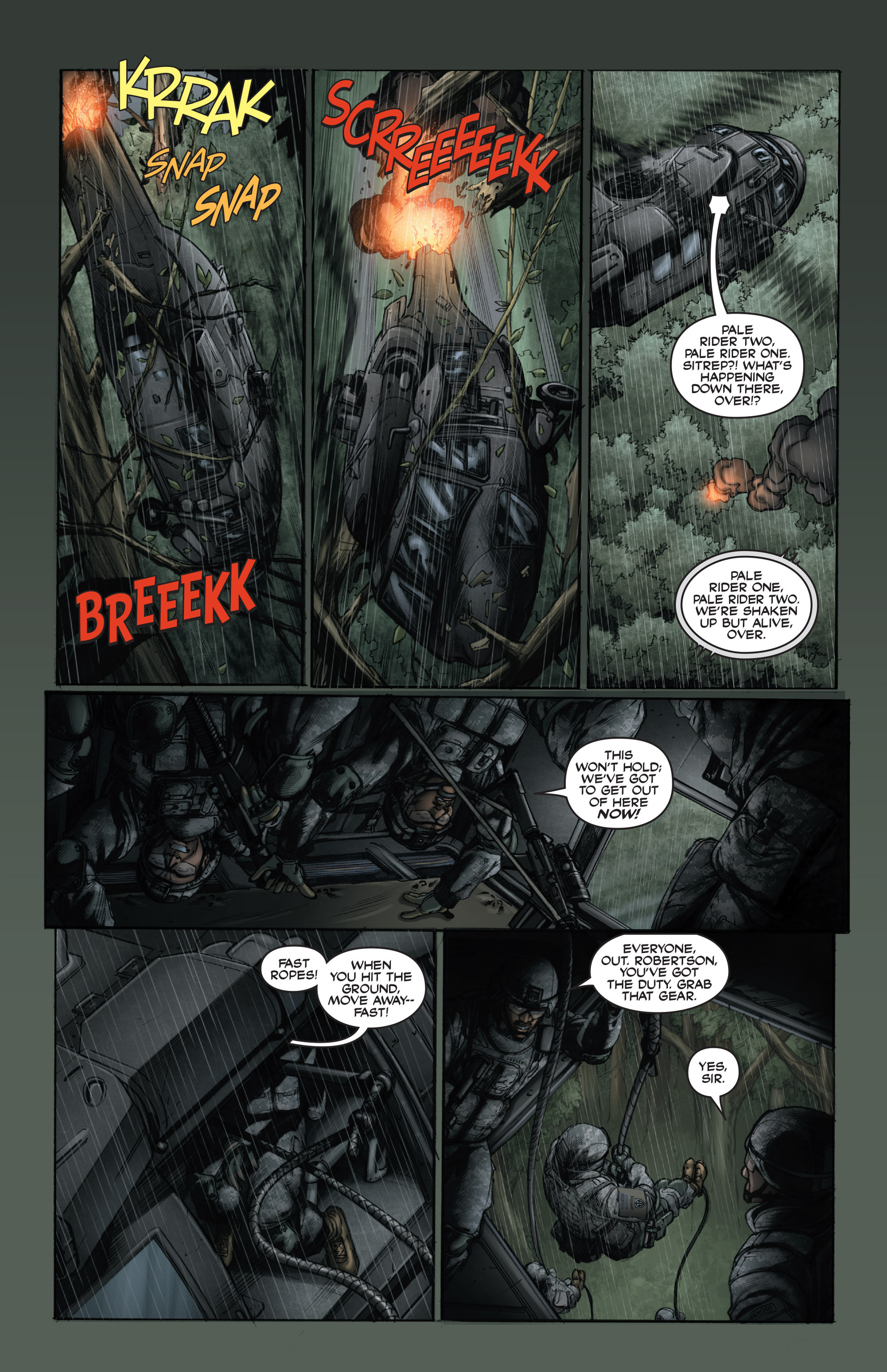 Read online America's Army comic -  Issue #15 - 9