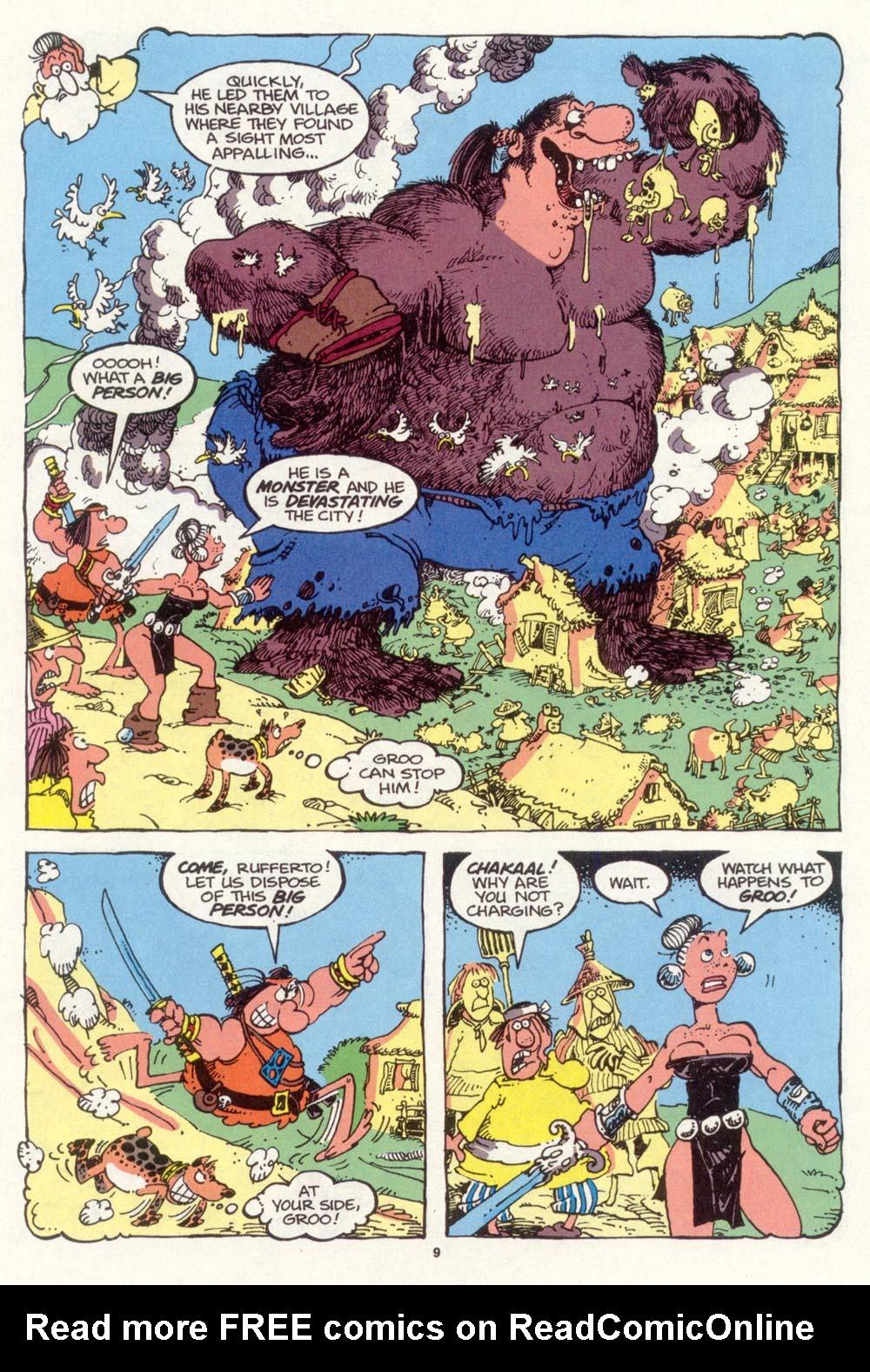 Read online Sergio Aragonés Groo the Wanderer comic -  Issue #98 - 10
