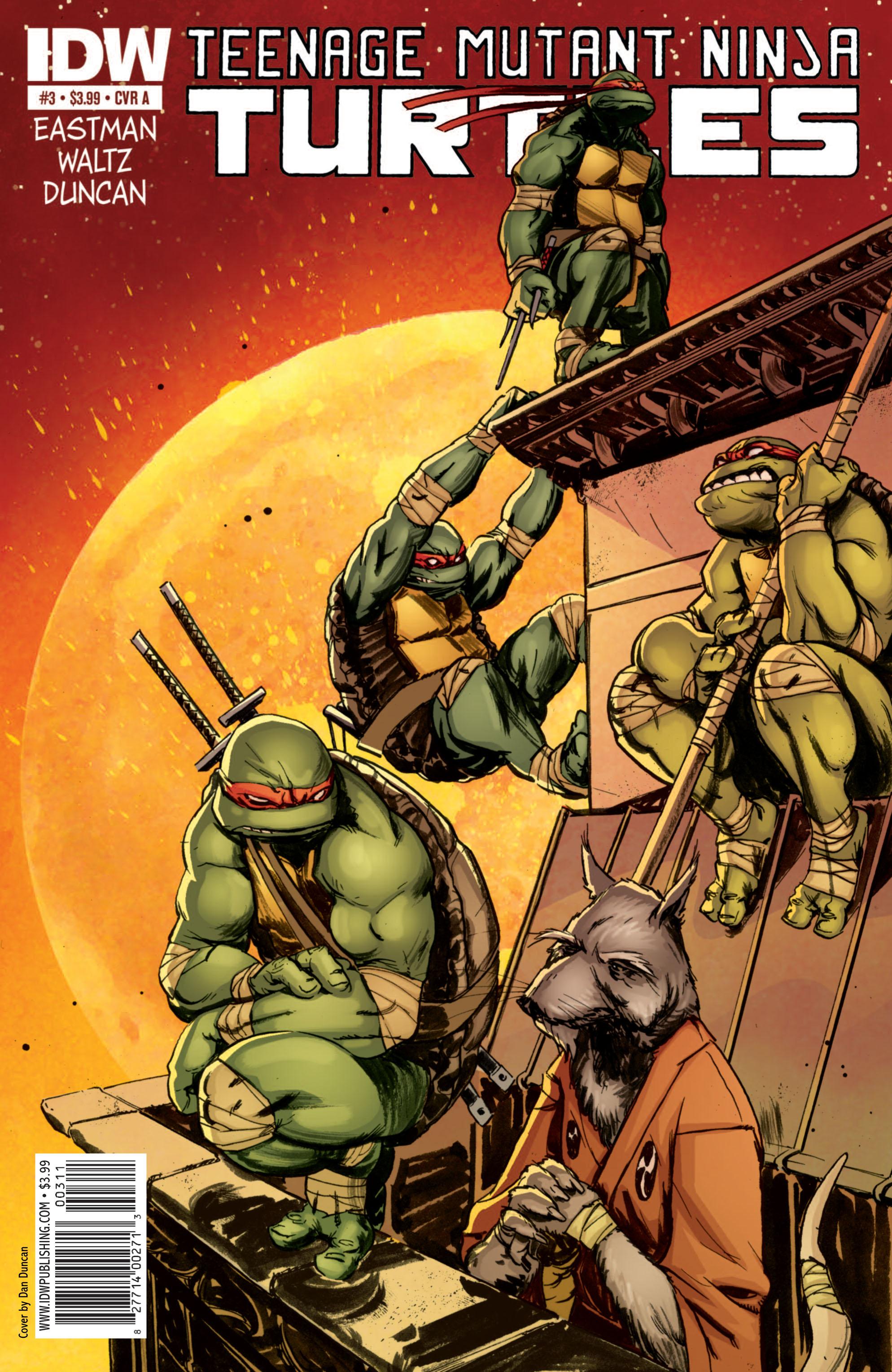 Teenage Mutant Ninja Turtles (2011) issue 3 - Page 1