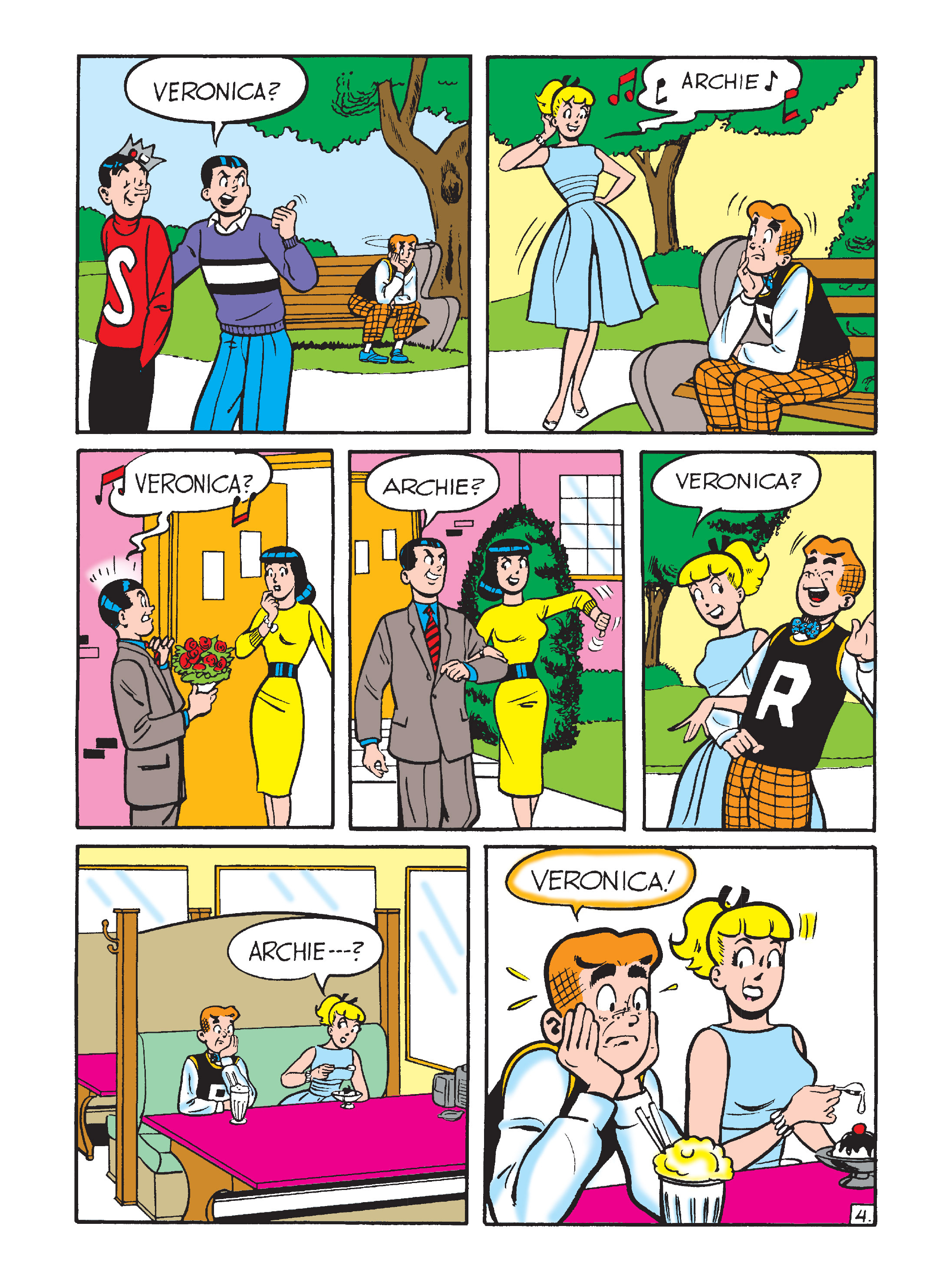 Read online Archie's Funhouse Double Digest comic -  Issue #8 - 103