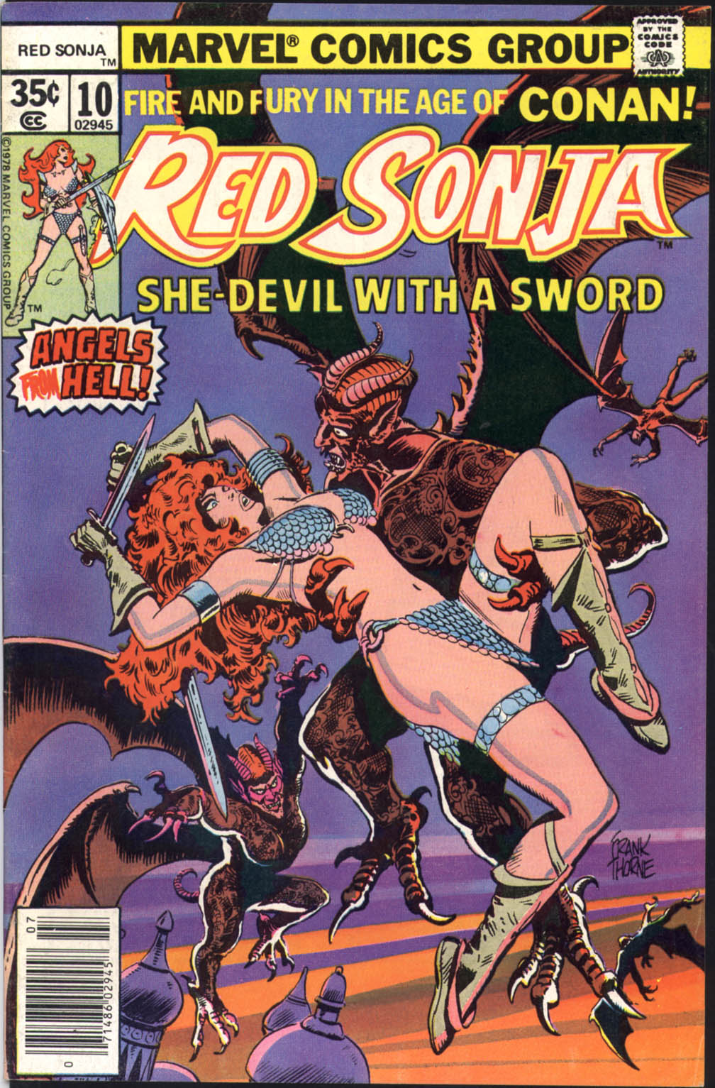 Red Sonja (1977) issue 10 - Page 1