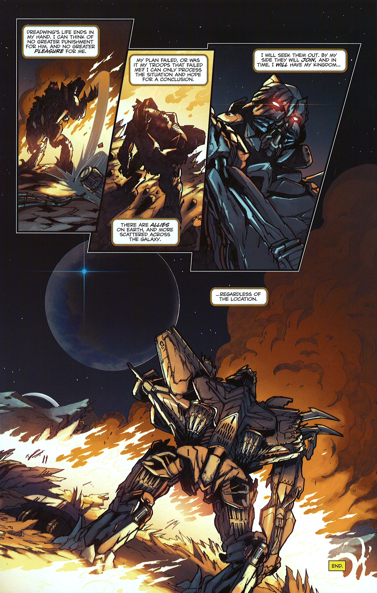 Read online Transformers: The Reign of Starscream comic -  Issue #5 - 25