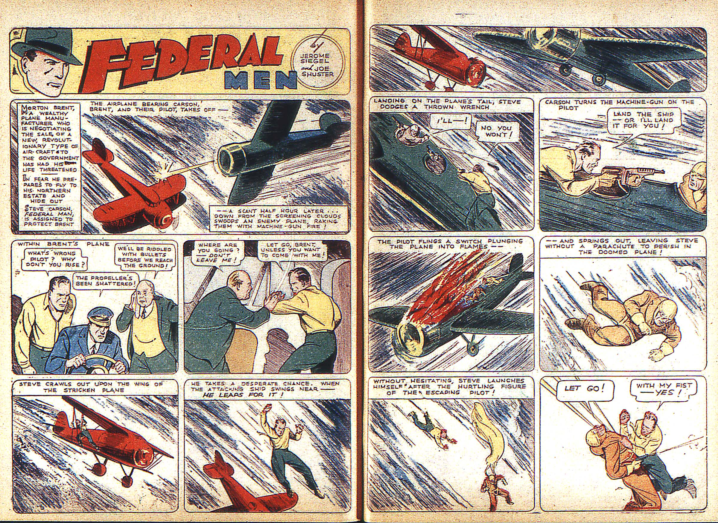 Read online Adventure Comics (1938) comic -  Issue #3 - 40