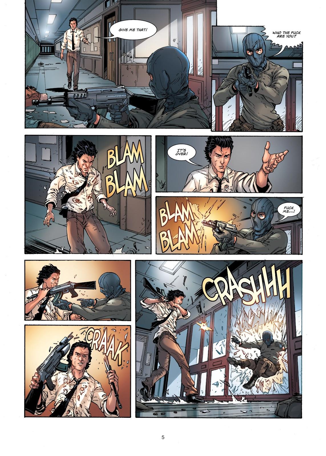 Read online Vigilantes comic -  Issue #1 - 5