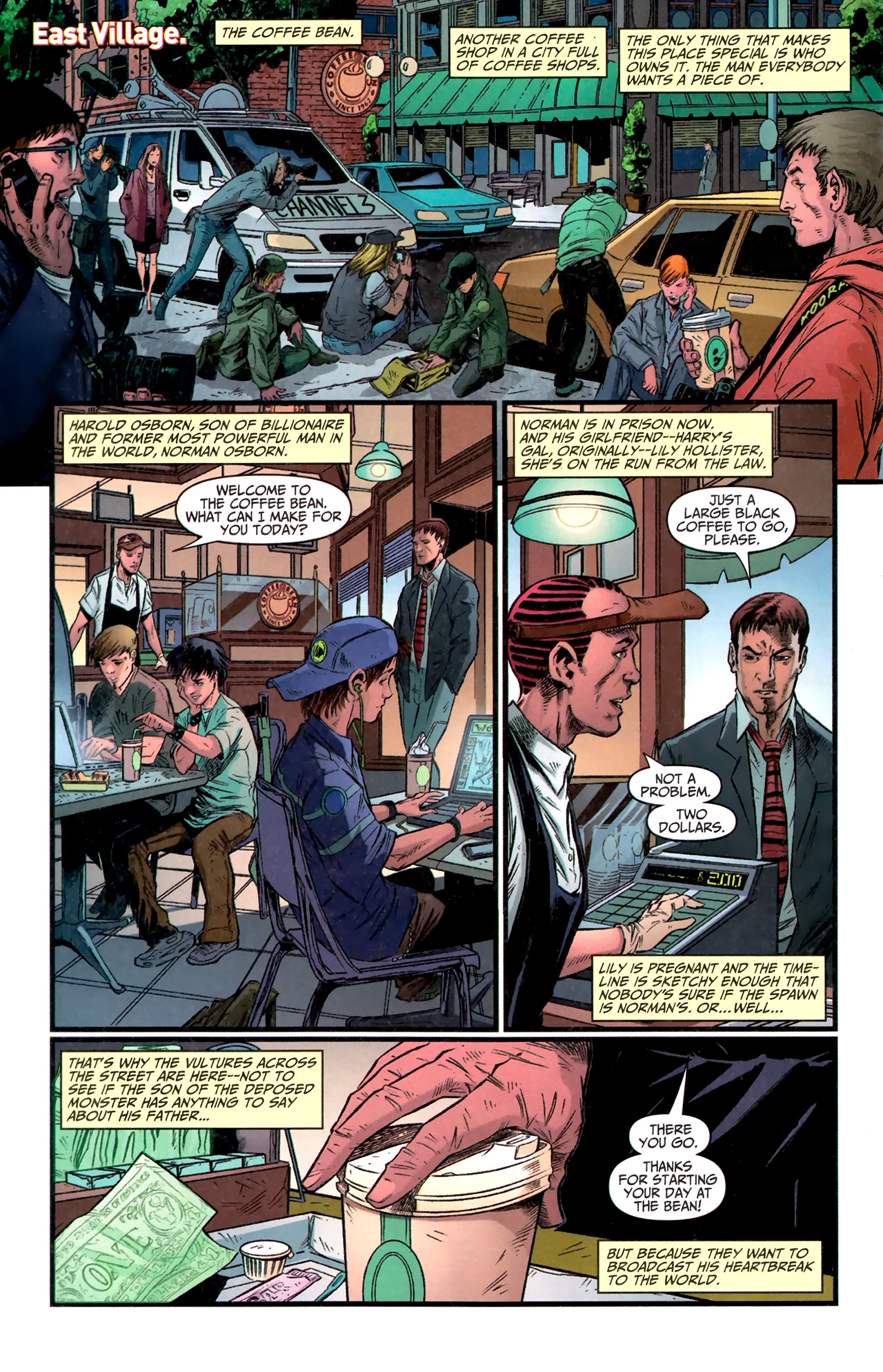 Read online Amazing Spider-Man Presents: American Son comic -  Issue #1 - 5