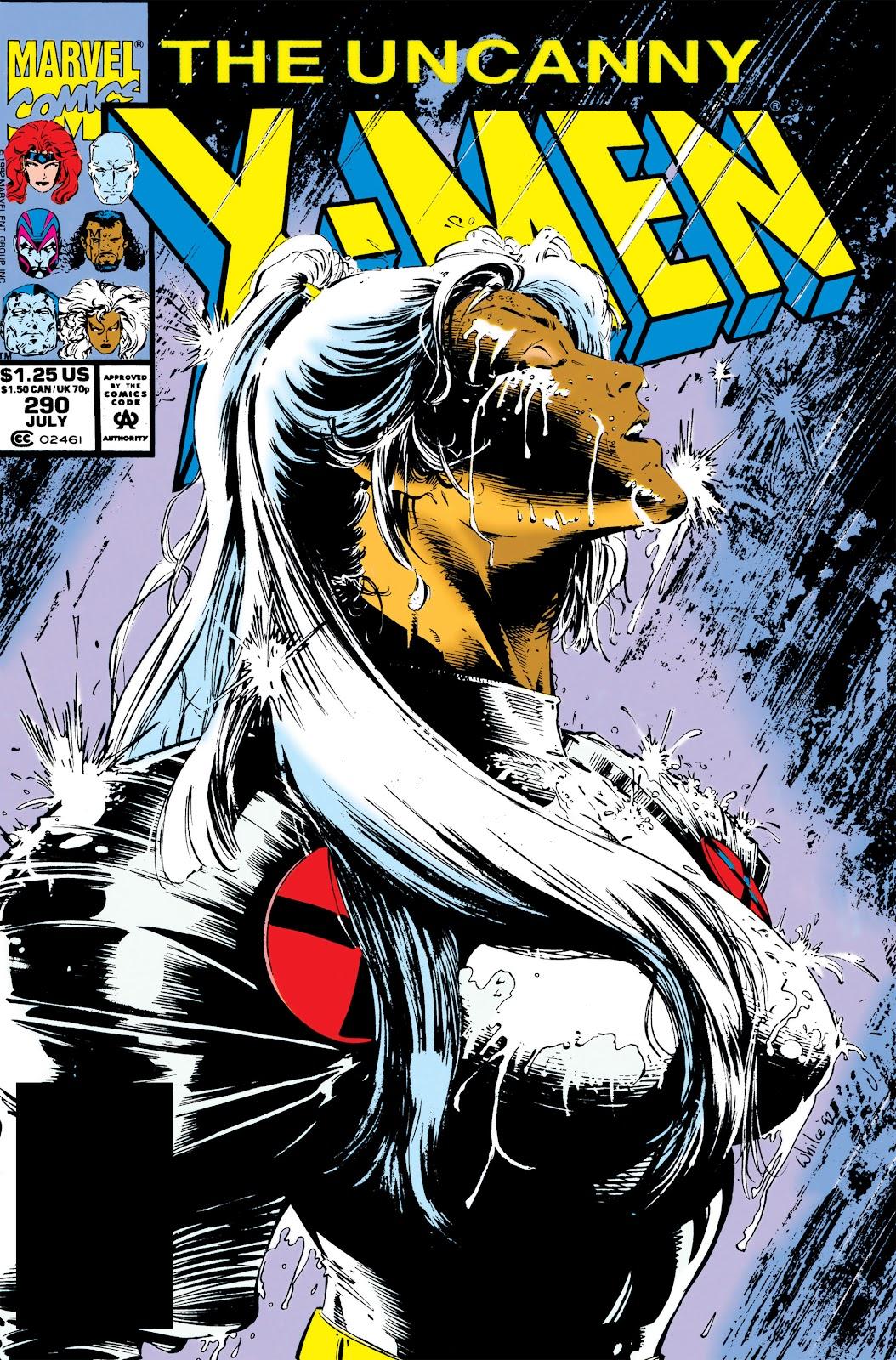 Uncanny X-Men (1963) issue 290 - Page 1