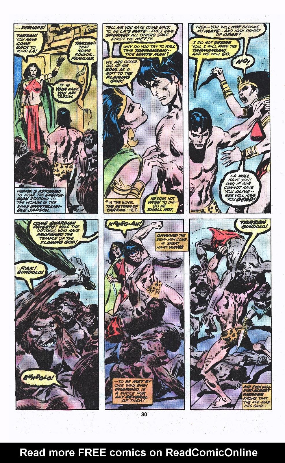 Tarzan (1977) issue 3 - Page 16