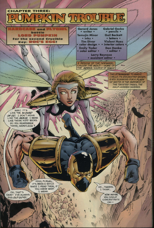 Read online Godwheel comic -  Issue #2 - 20