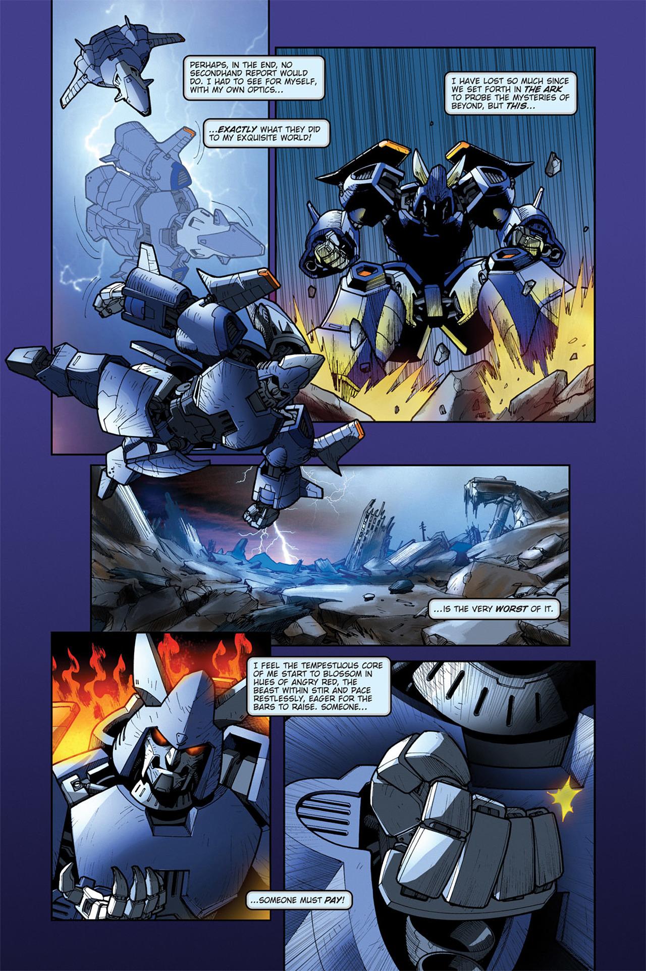 Read online Transformers Spotlight: Cyclonus comic -  Issue # Full - 6